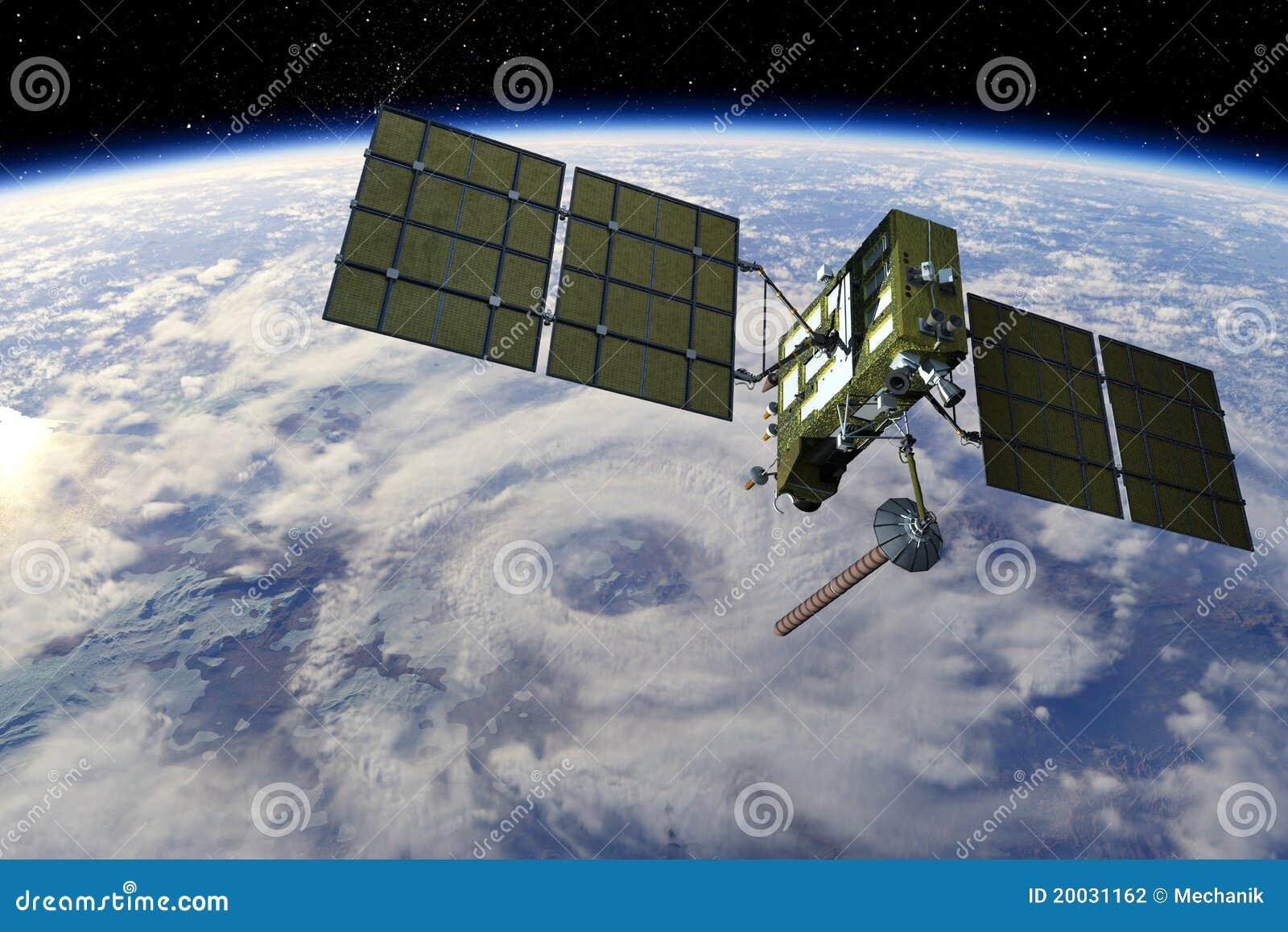 Satellite moderno di GPS