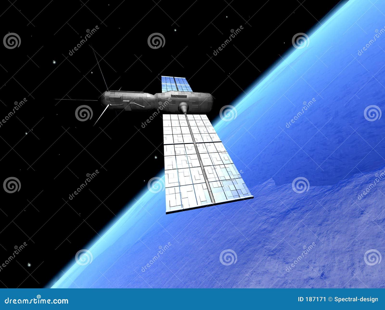 Satellite sopra la terra 2