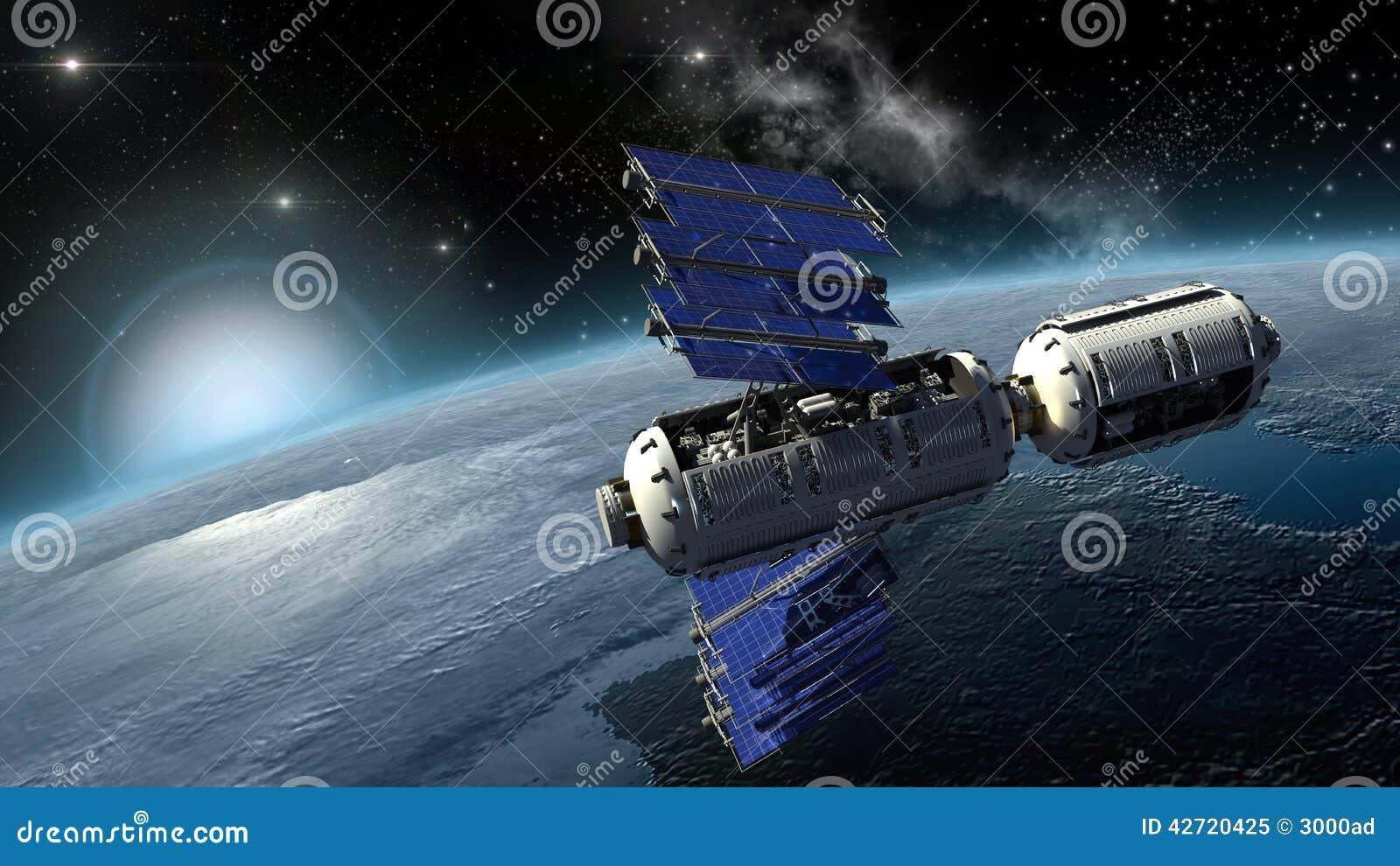 satellite sci fi nasa - photo #8