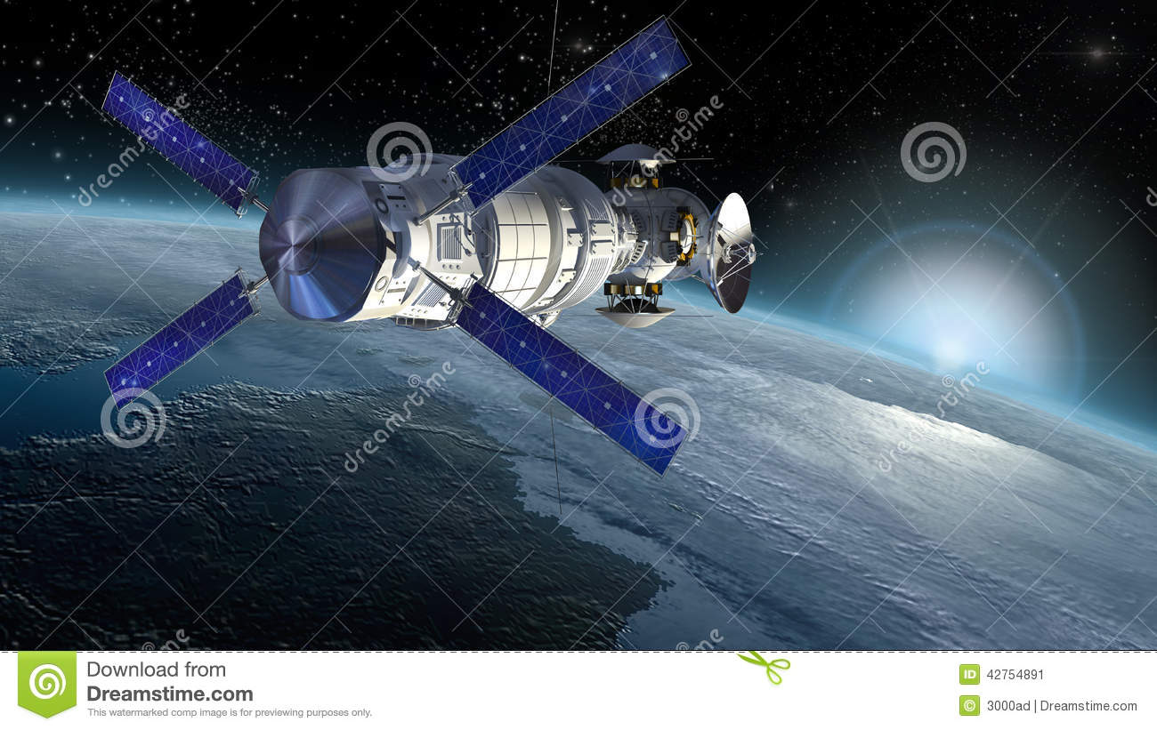 or spacecraft design for space science backgrounds interstellar space