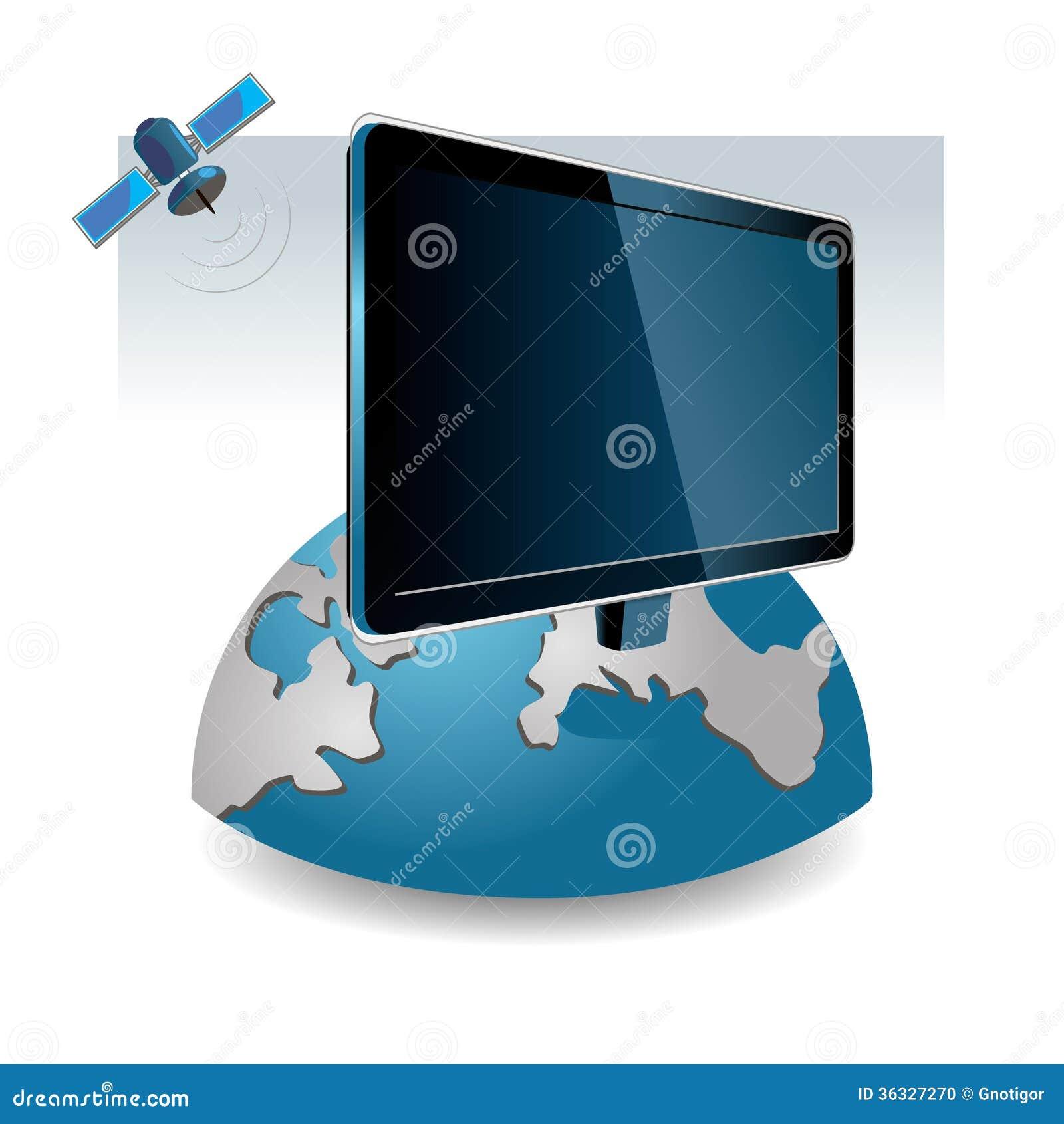 Satellite Tv Stock Photo Image 36327270