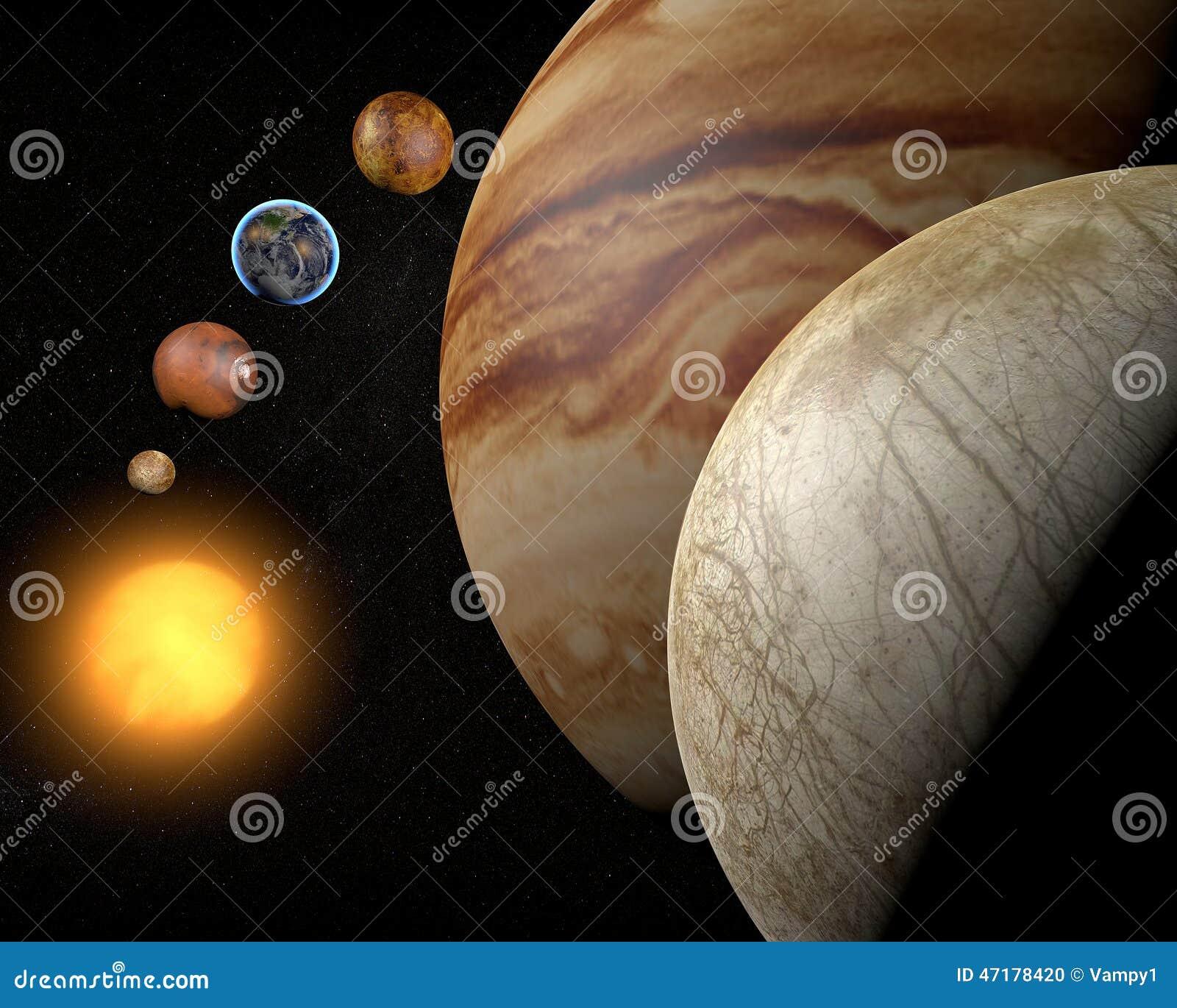 Satelliteneuropa, Jupitermond