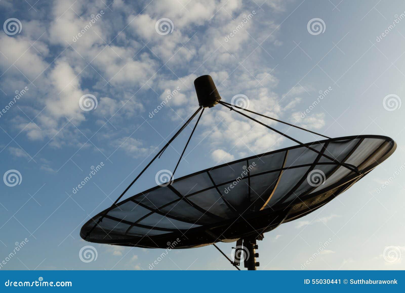 Satellites dish.