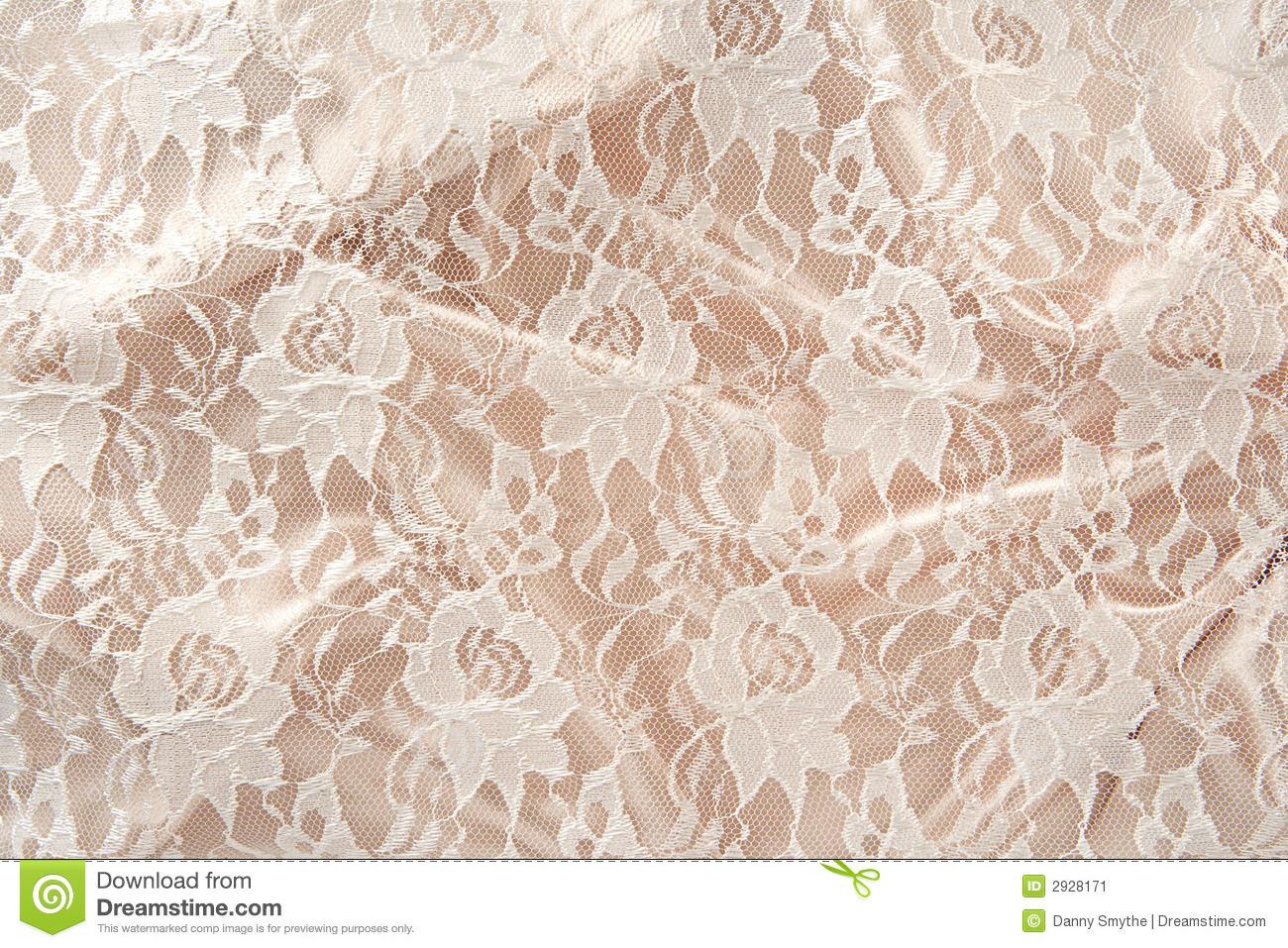 Satin Amp Lace Stock Image