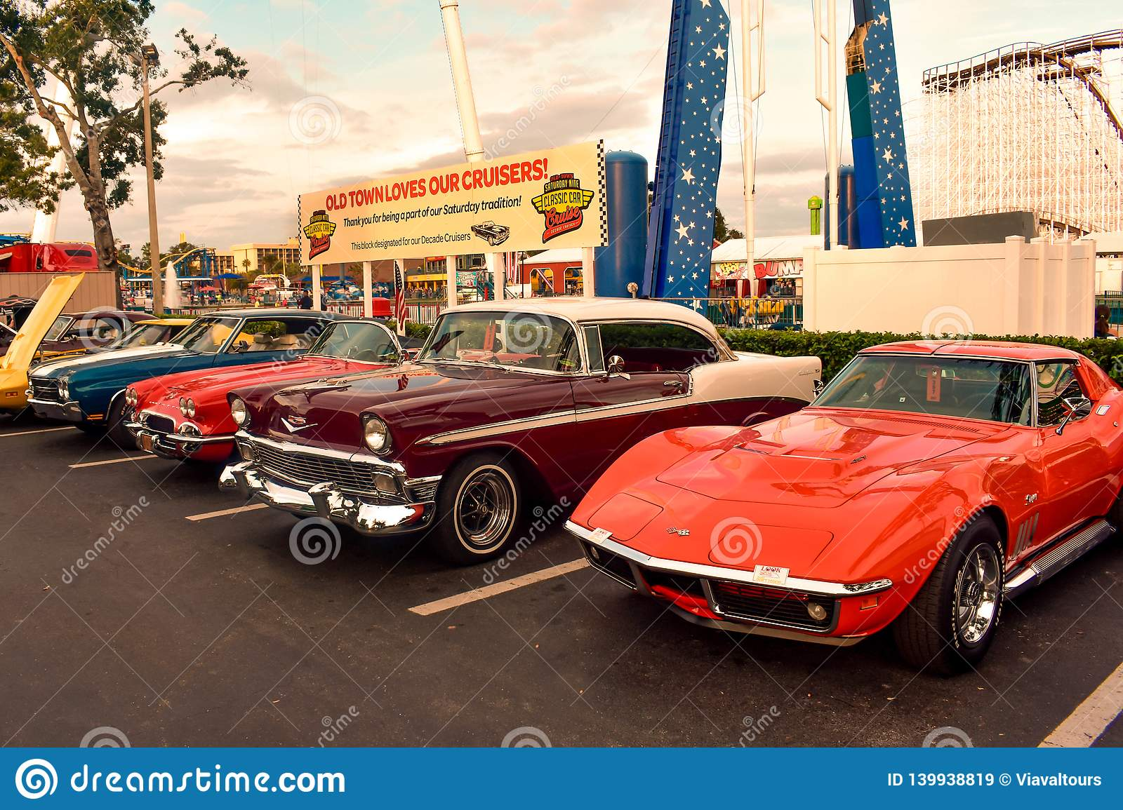Saturday Nite Classic Car Show And Cruise Is A Weekend