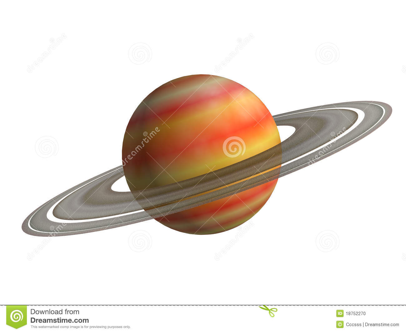 Saturn Stock Photo - Image: 18752270
