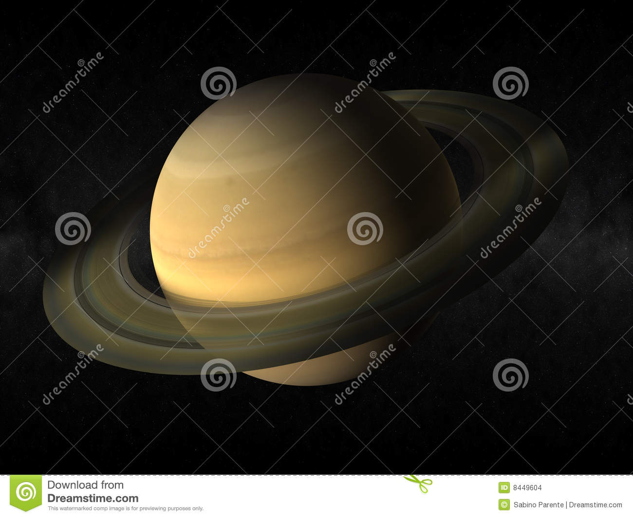 Saturn Planet Stock Images Image 8449604