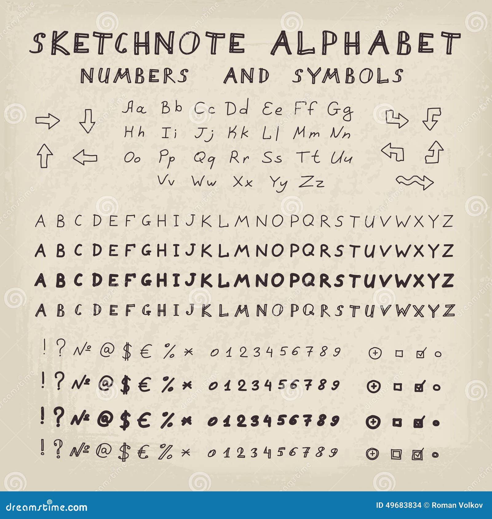 Mystische Zahlen Und Symbole
