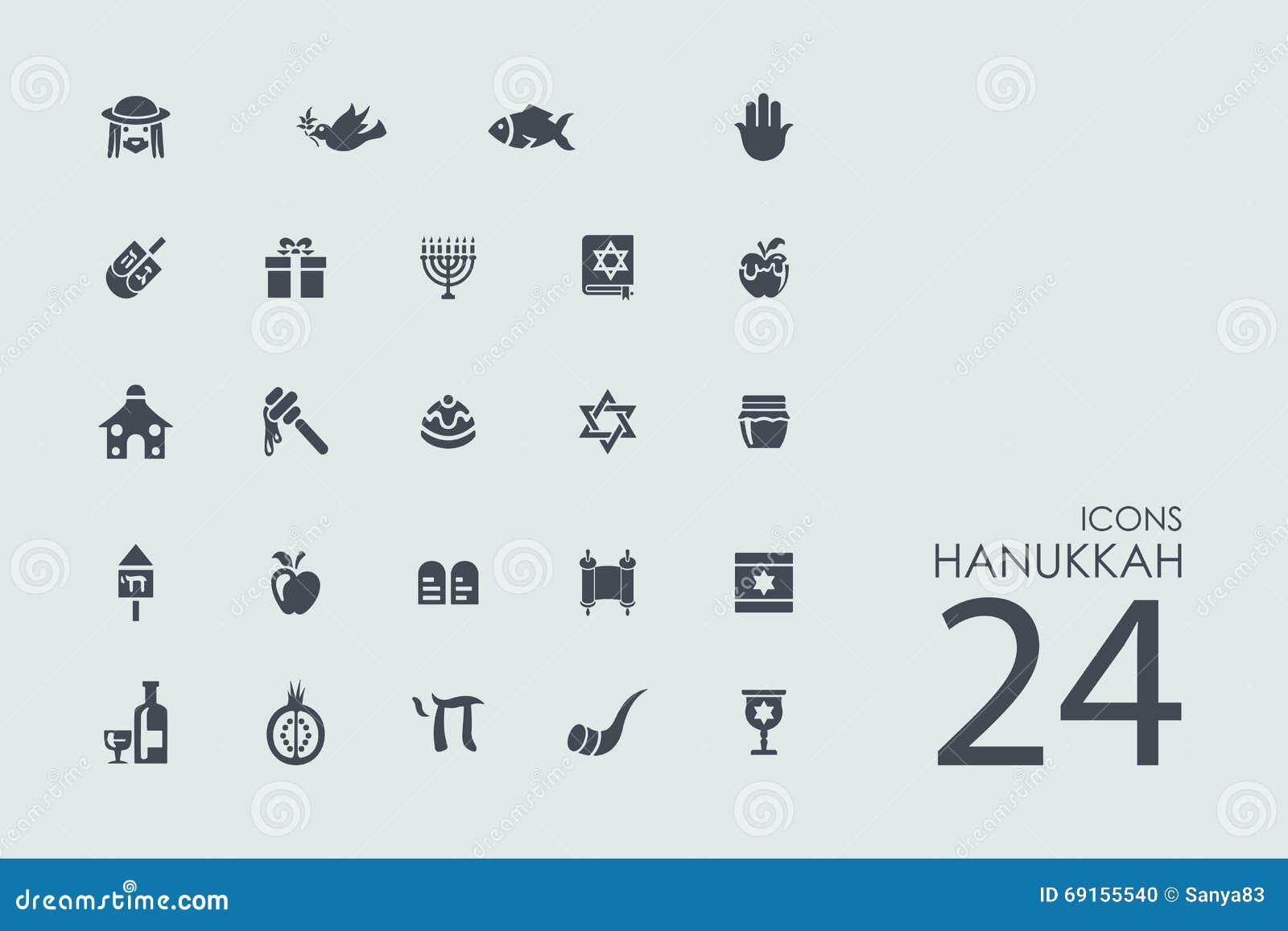 Satz Chanukka-Ikonen