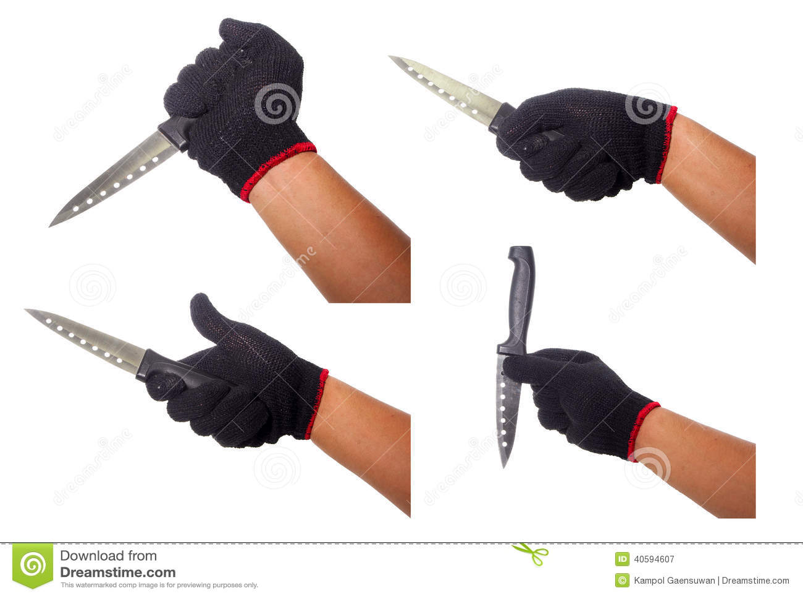 warum schwarze handschuhe beim kochen