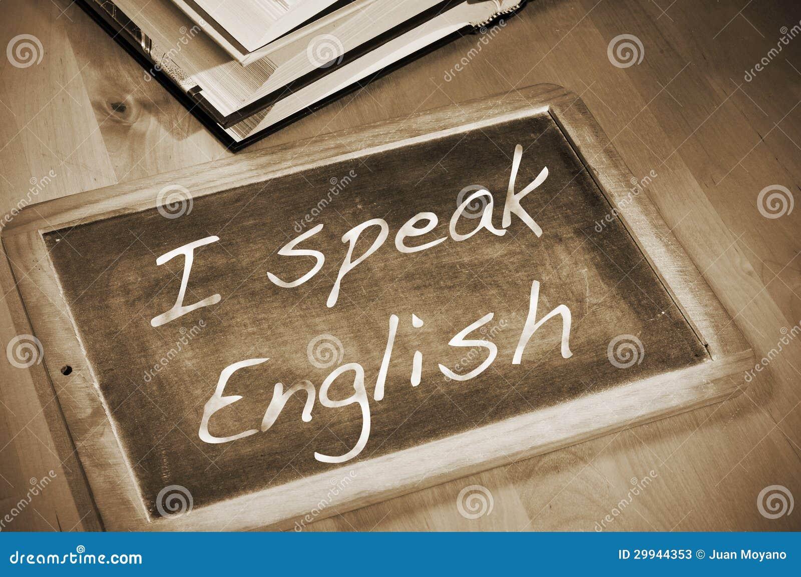 Ich spreche Englisch