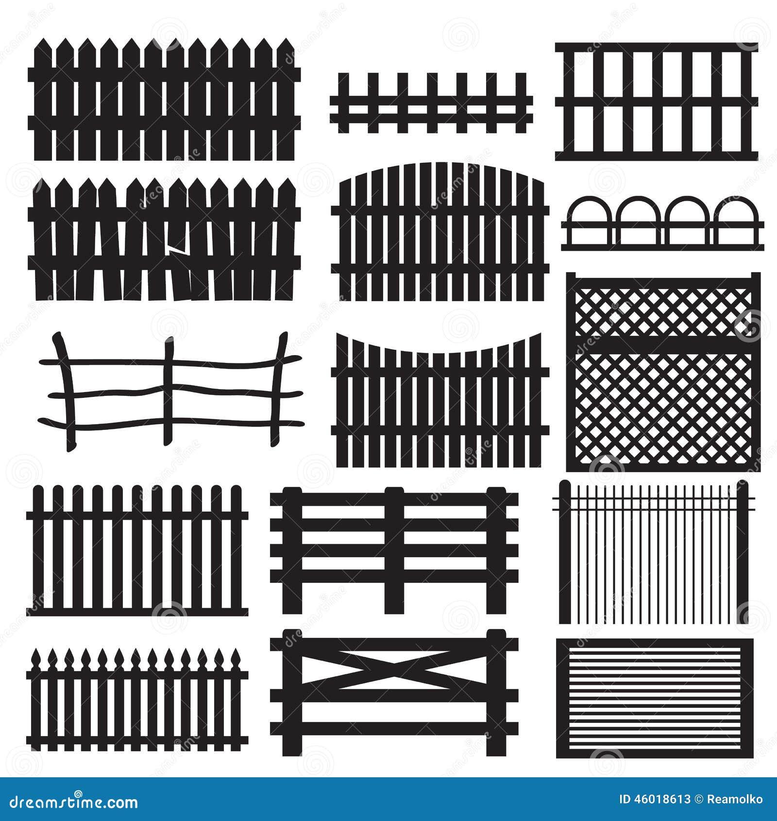 satz l ndliche zaunarten. Black Bedroom Furniture Sets. Home Design Ideas