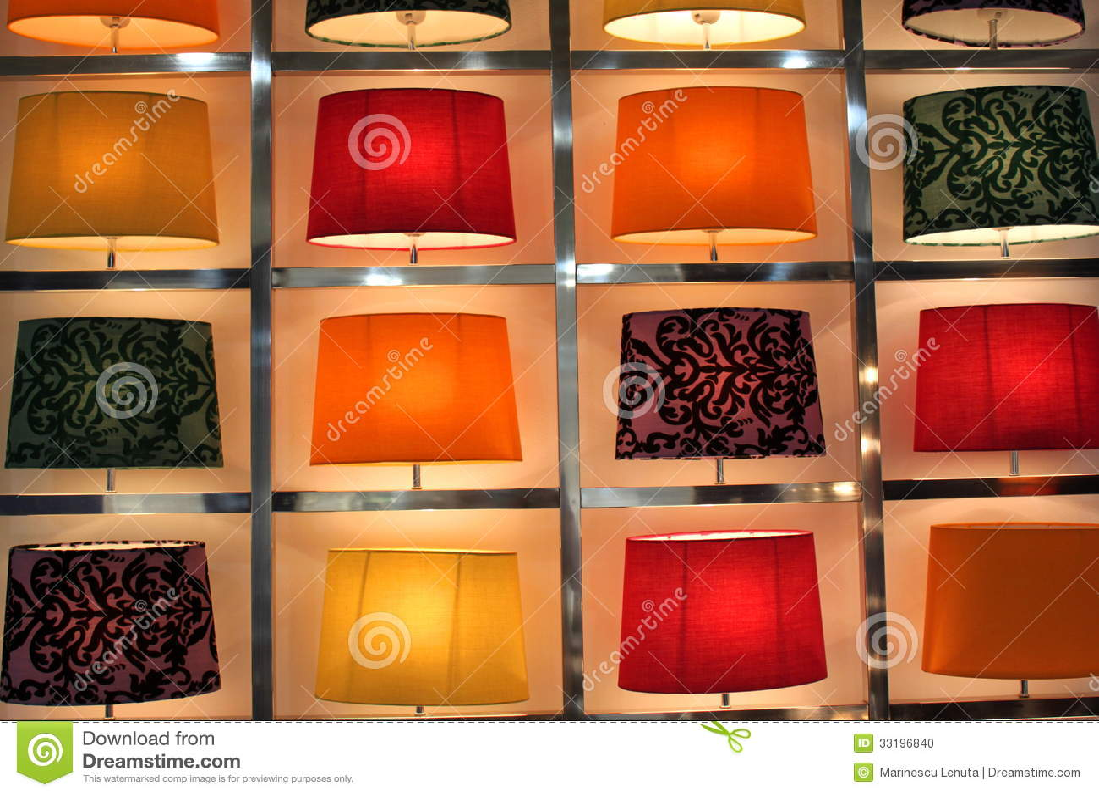 Malerisch Moderne Tischlampen Foto Von Satz