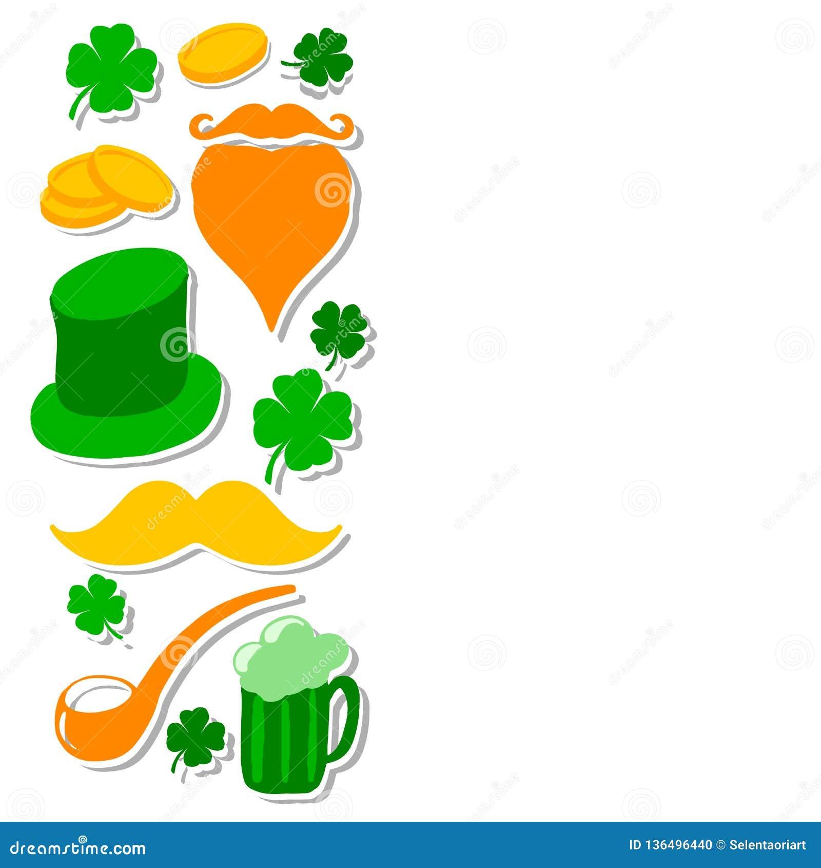 Satz St. Patricks Tagesmit