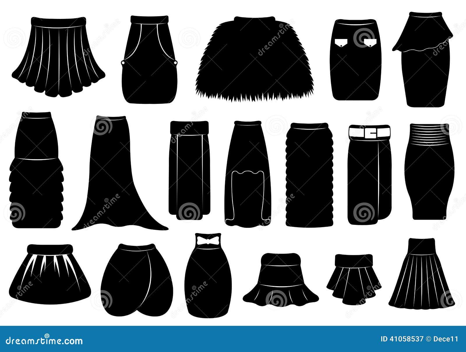 satz verschiedene r cke vektor abbildung bild 41058537. Black Bedroom Furniture Sets. Home Design Ideas