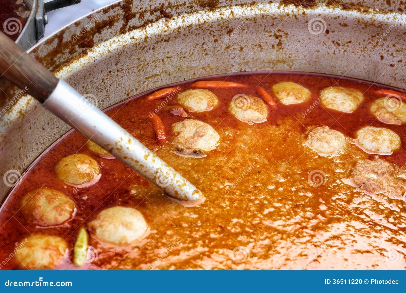 Sauce épicée à cari