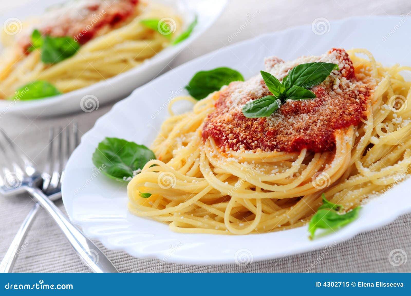 Sauce de pâte et tomate