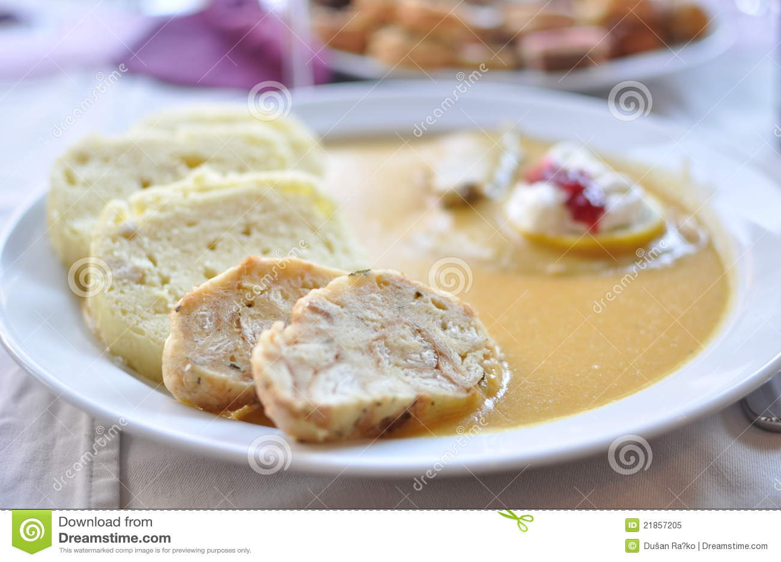 Sauce Tchèque à aloyau