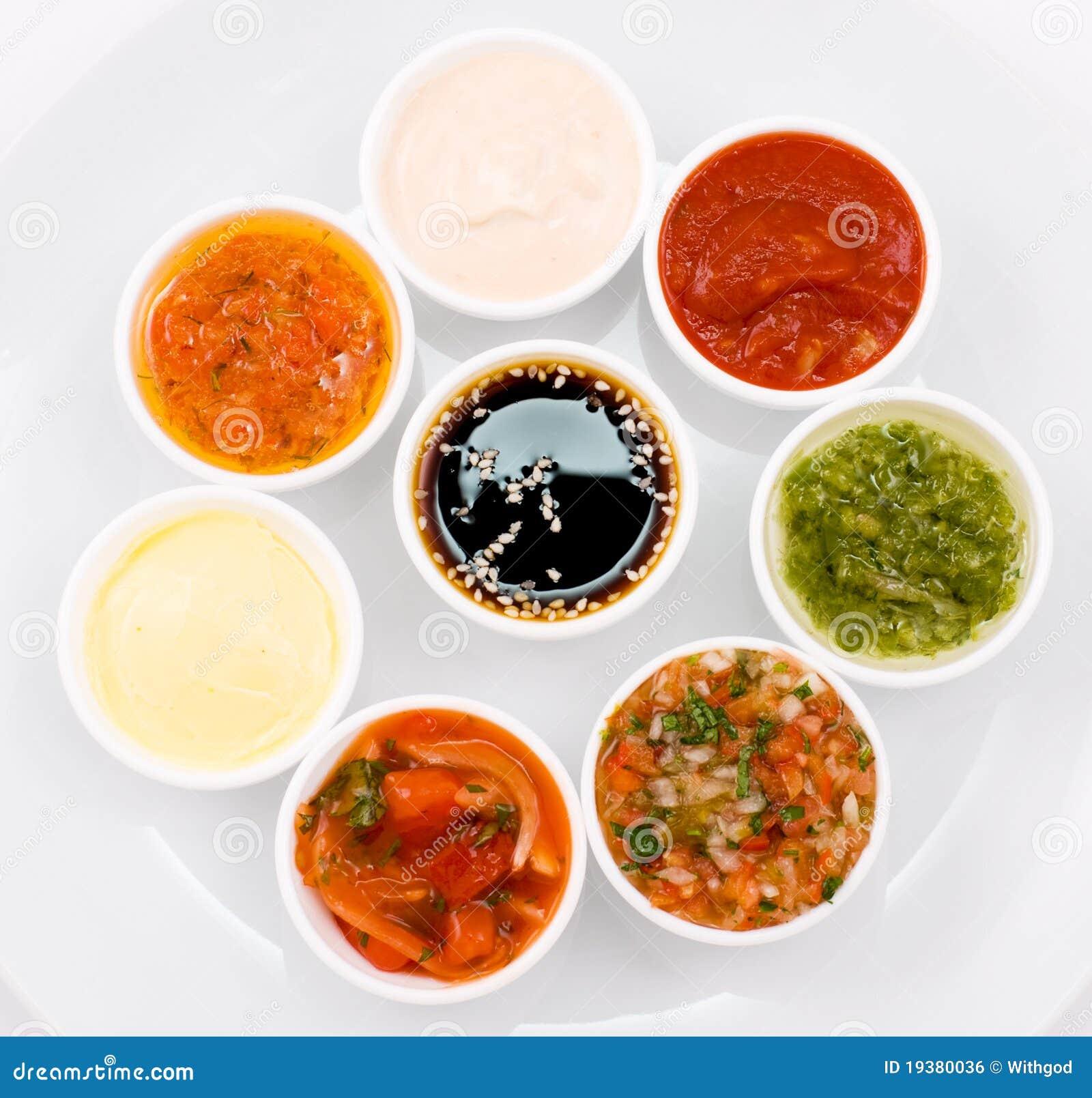 Sauces palette