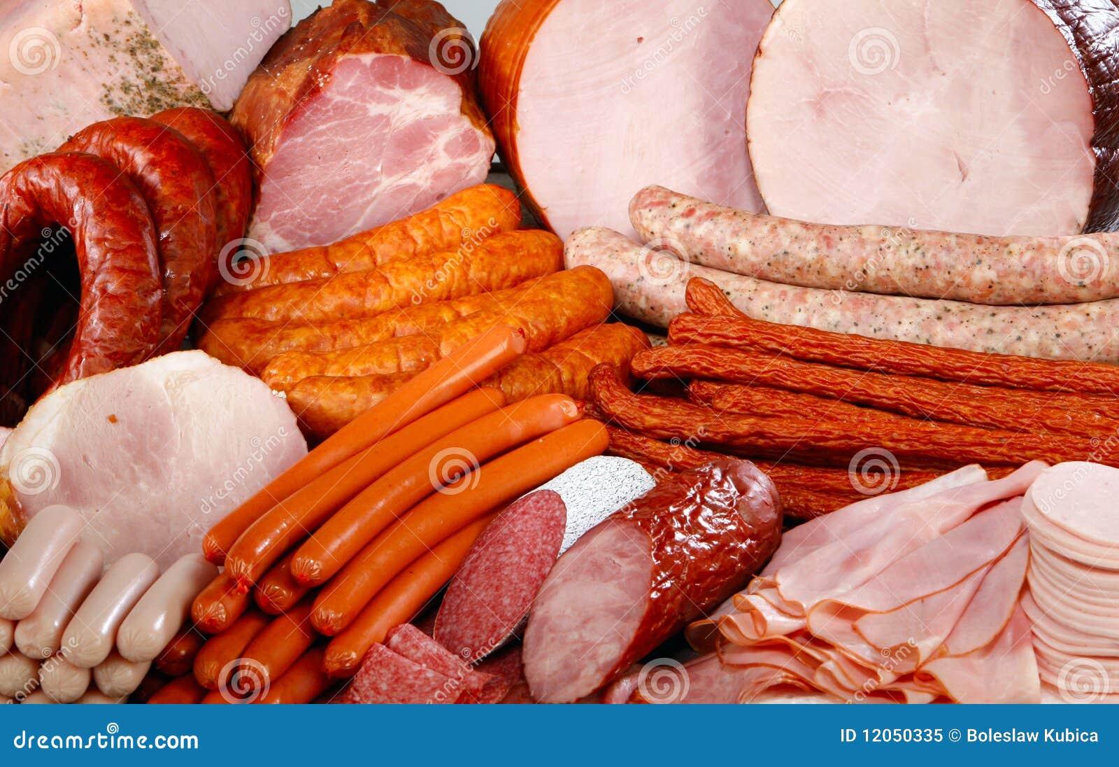 Saucisse et viande