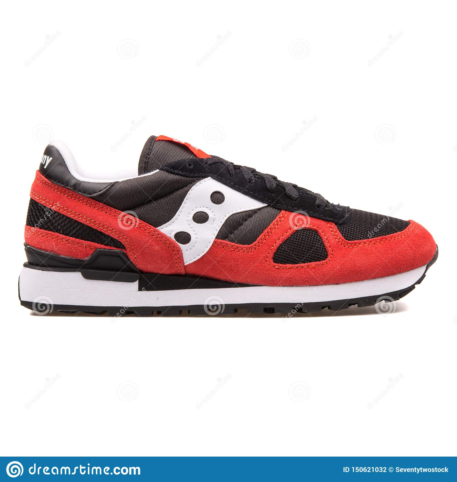 Glossary Intend Maid  Saucony Shadow Original Black And Red Sneaker Editorial Photography - Image  of activity, sneakers: 150621032