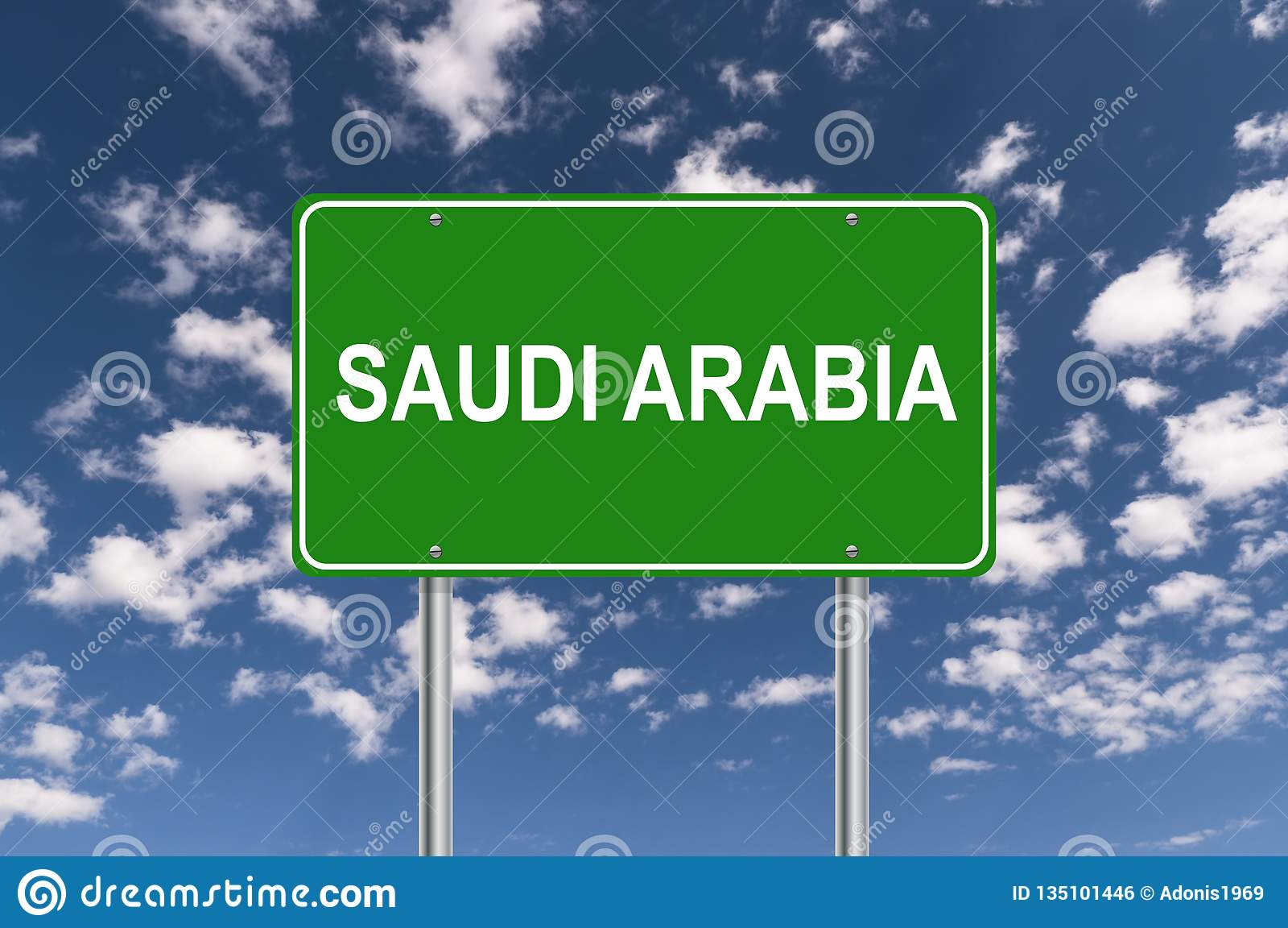 Saudi-Arabien Zeichen
