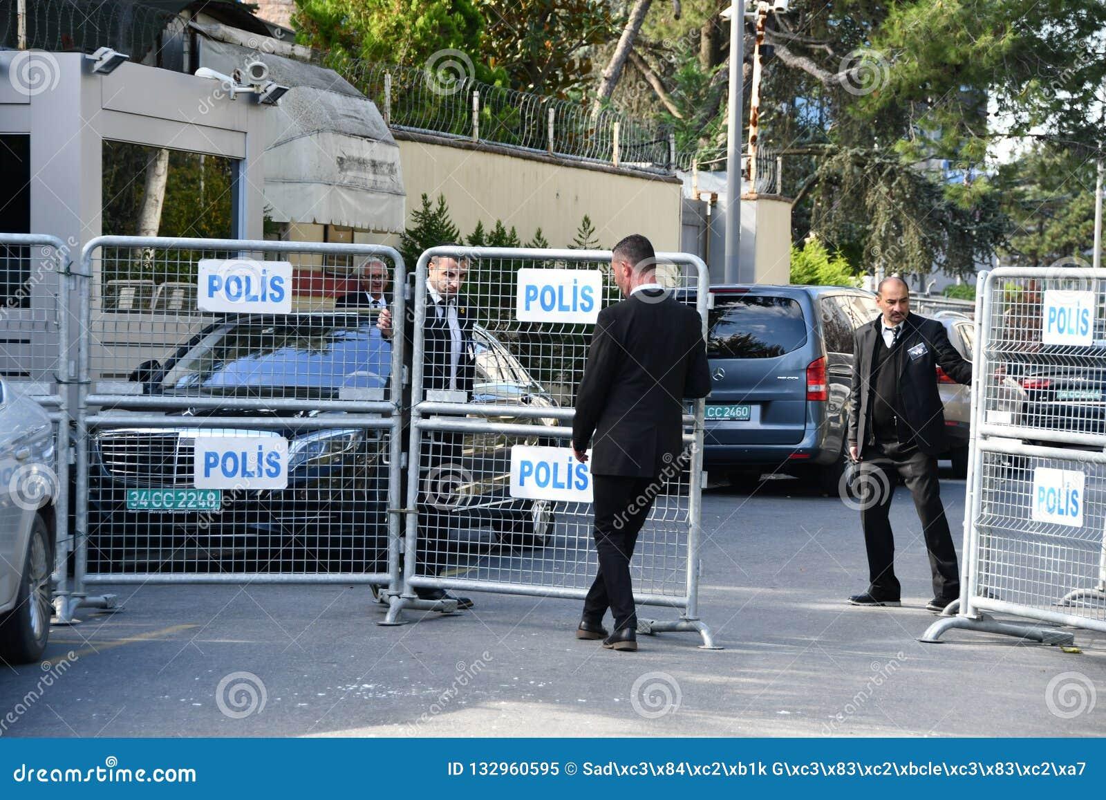 Saudiarabien konsulat i Istanbul