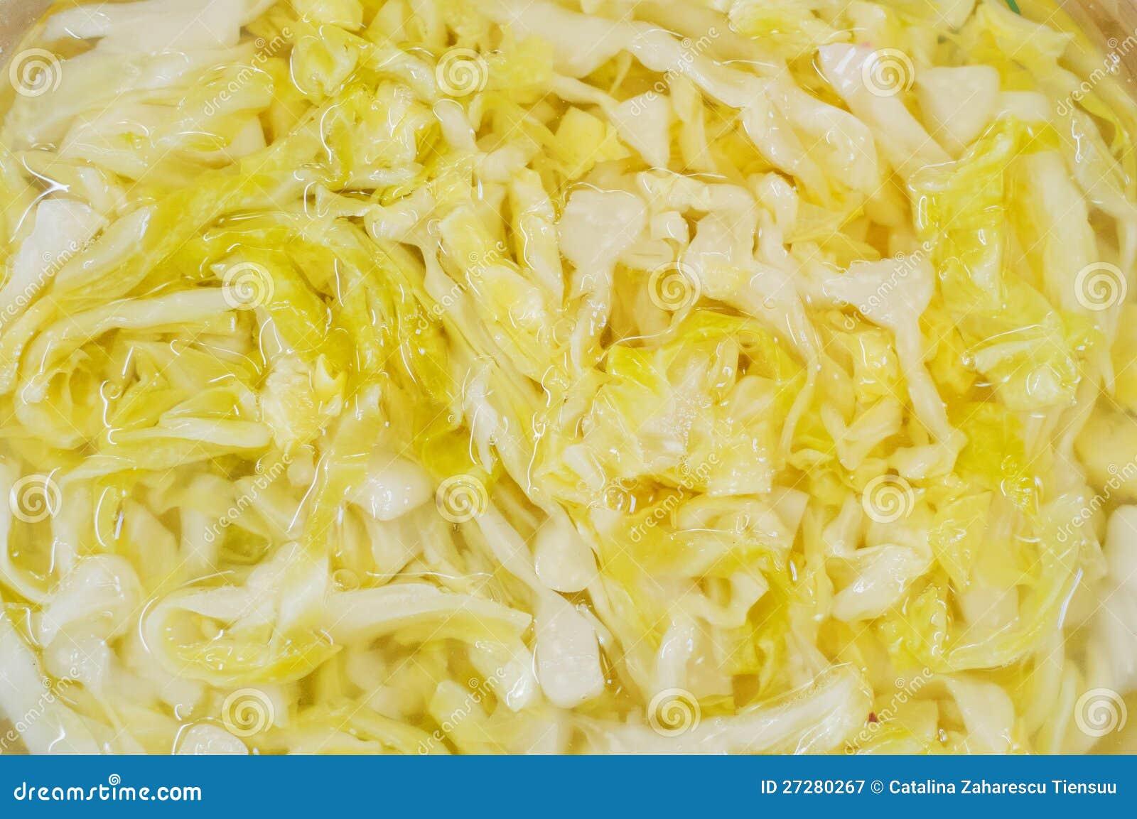 Sauerkrauttextur