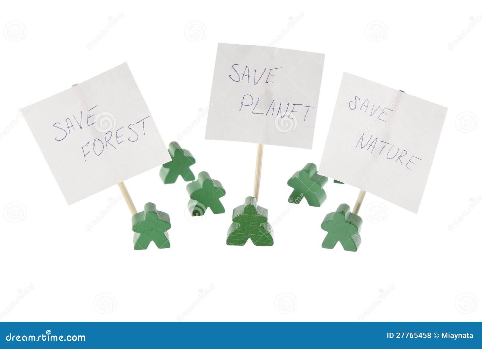 Sauf notre contact vert de nature et de planète