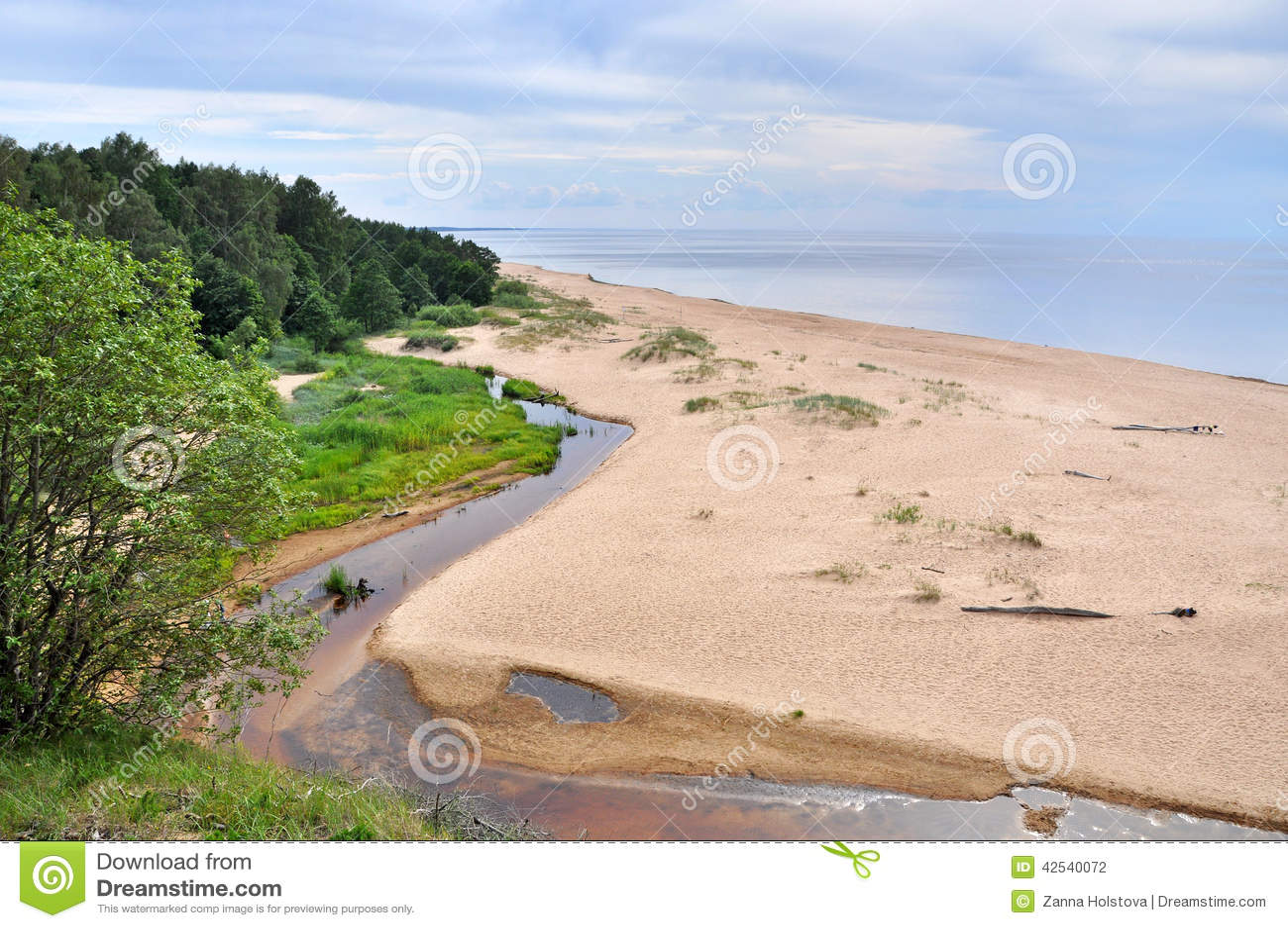 Saulkrasti, Baltic Sea, Latvia.