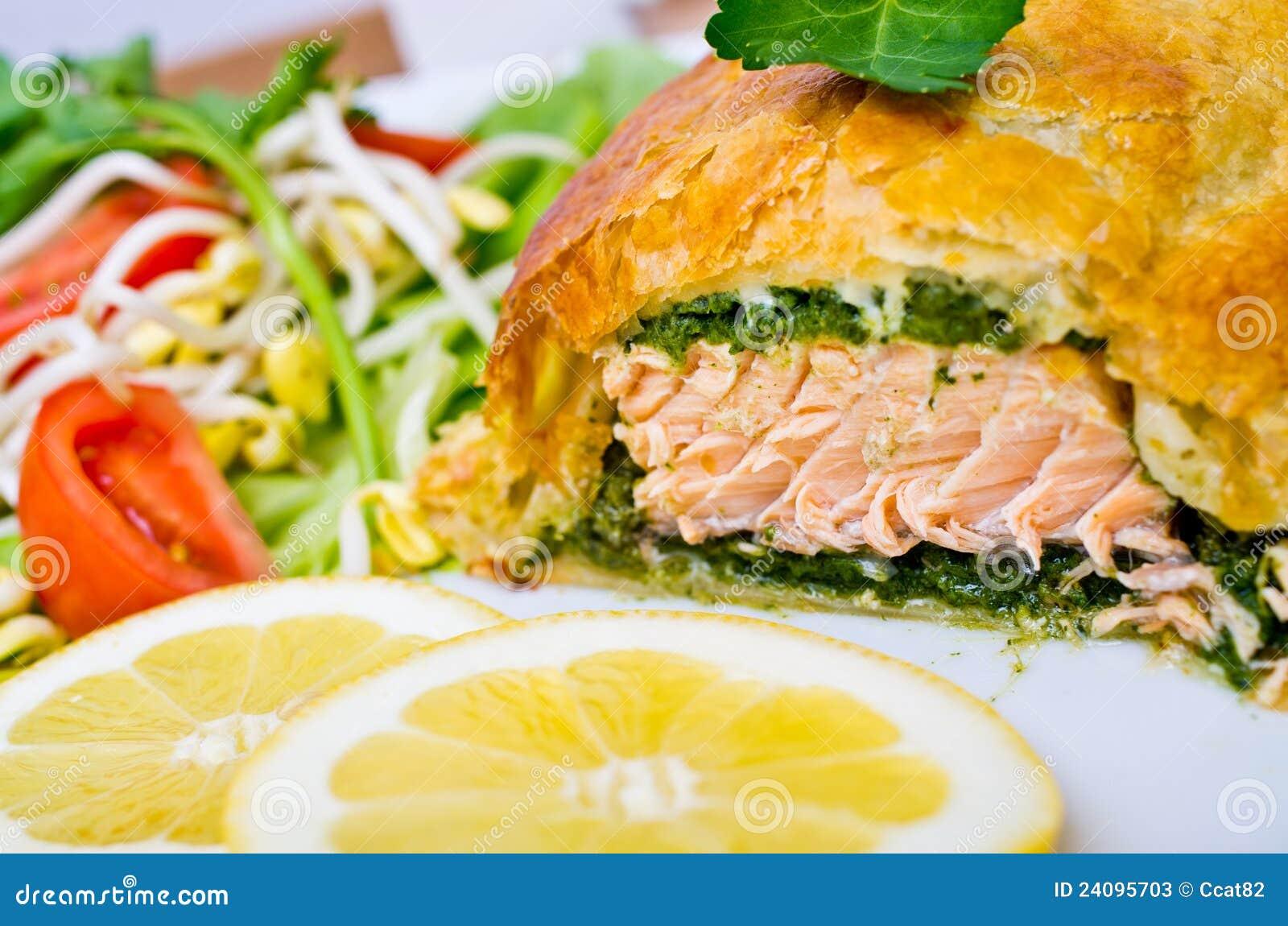 Saumons en pâte feuilletée