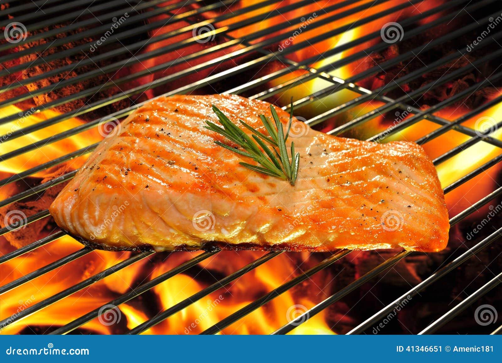 Saumons grillés