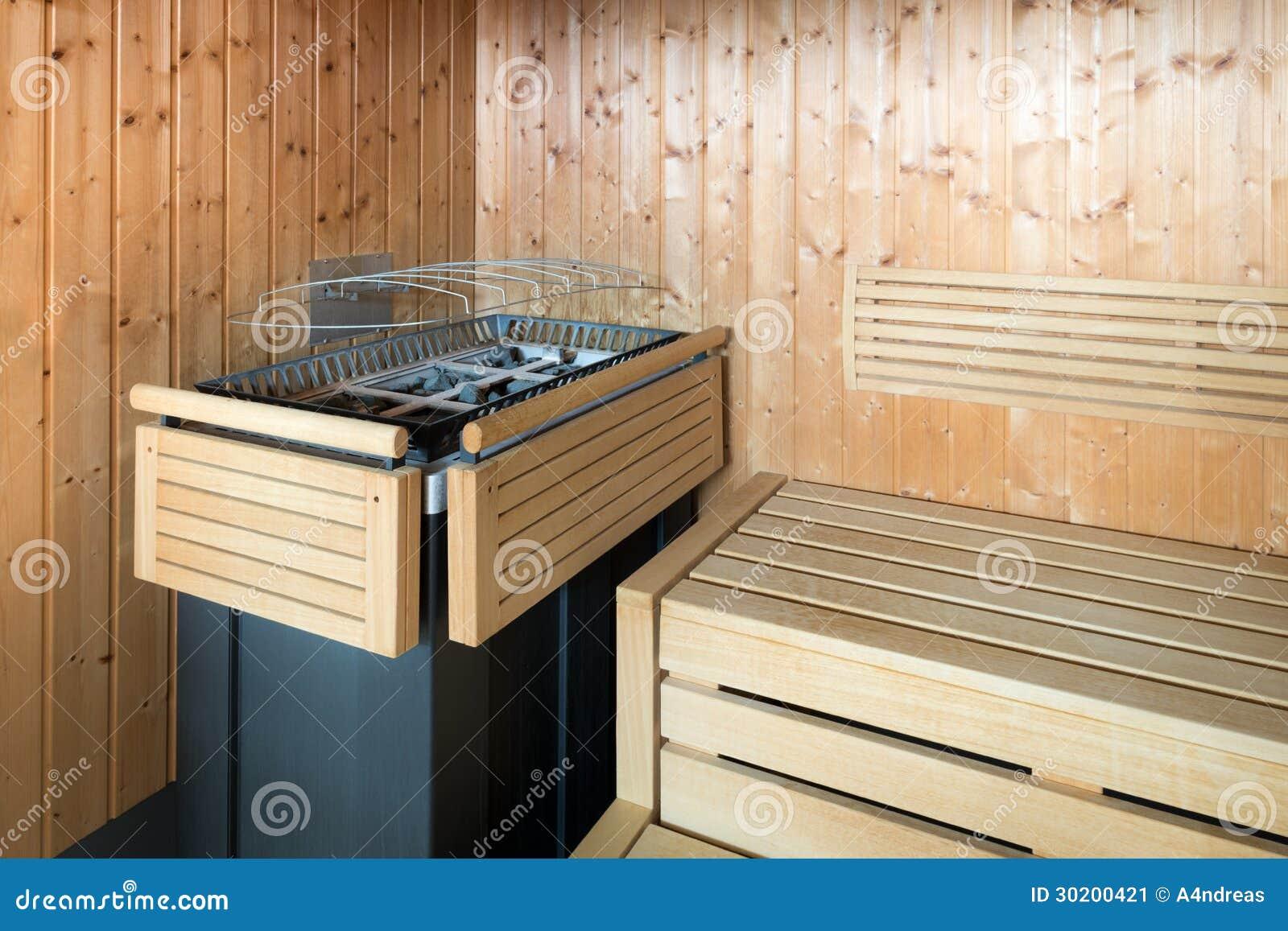 Sauna de madera del vapor imagen de archivo imagen 30200421 - Madera para sauna ...