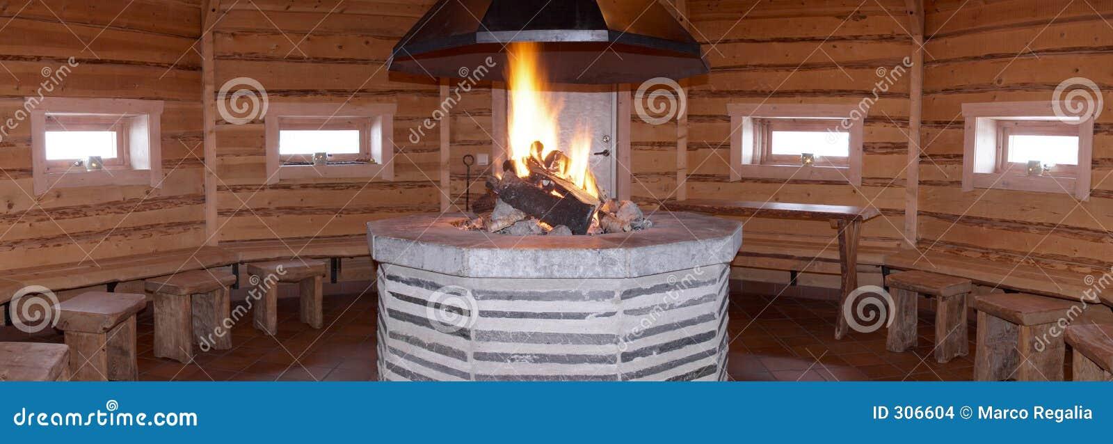 Sauna drewna
