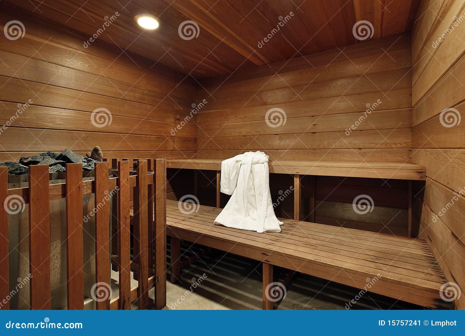 Welchen Fußboden In Der Sauna ~ Sauna im luxuxhaus stockbild. bild von innen fußboden 15757241