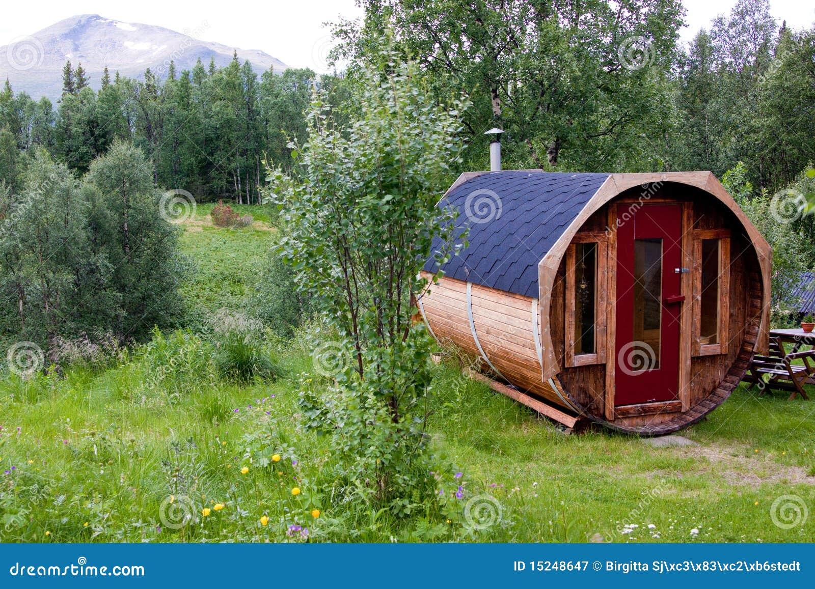 Sauna sueca en Snasan.