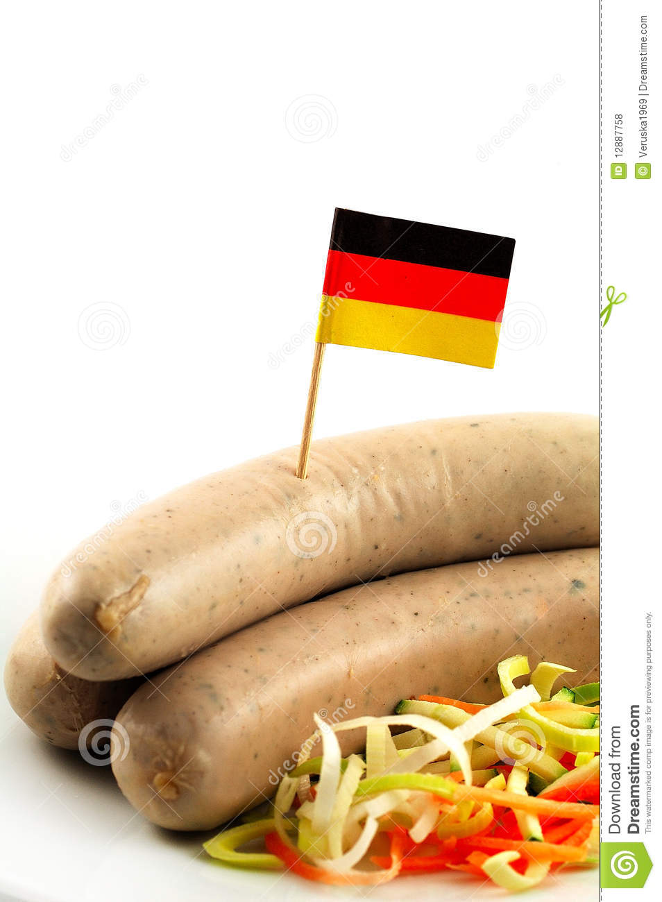 Sausage Royalty Free Stock Photos - Image: 12887758
