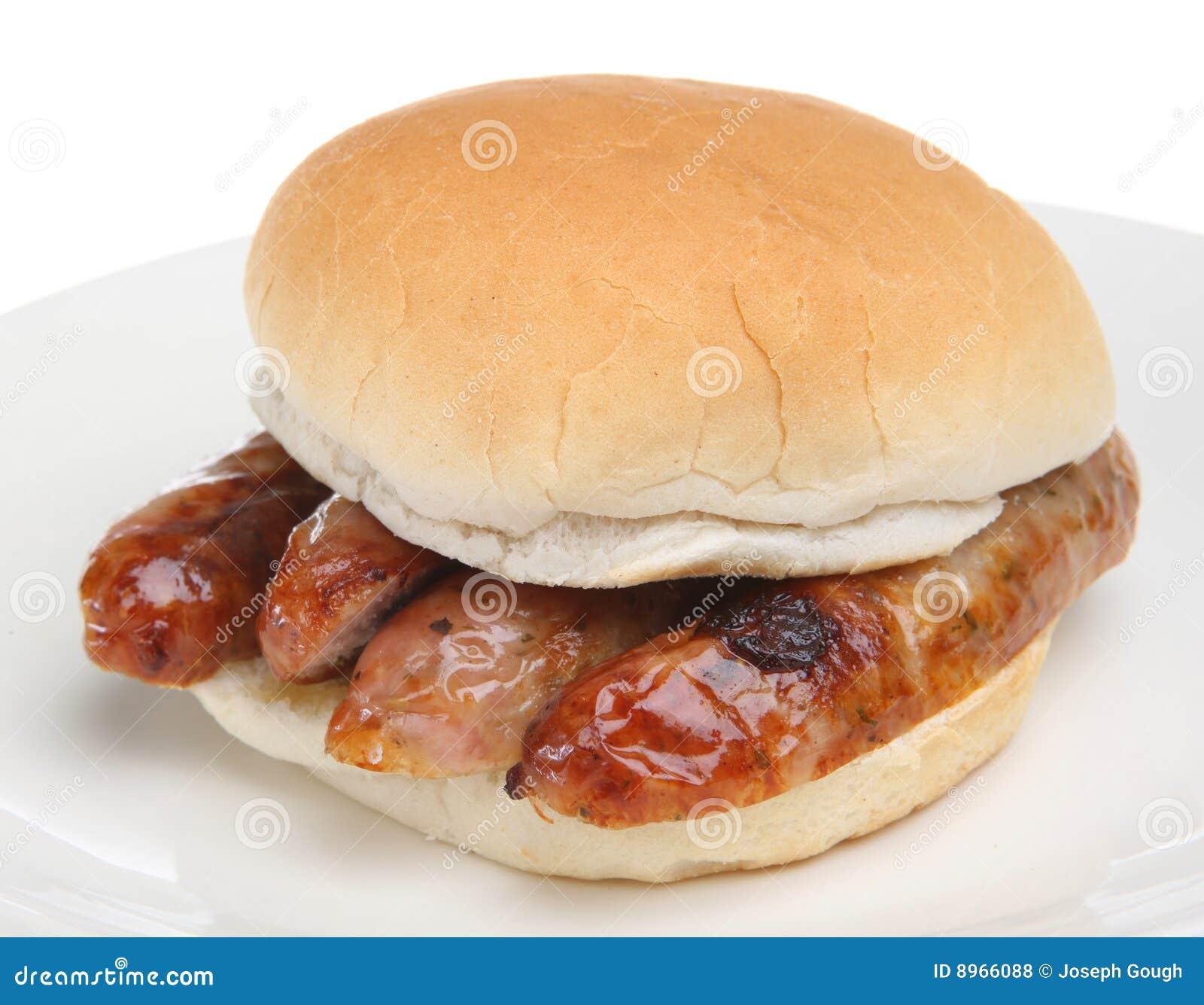 Sausage Bap Royalty Free Stock Photos - Image: 8966088