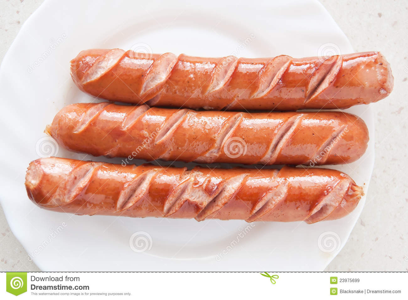 sausage hot dog food at plate royalty free stock images image 23975699. Black Bedroom Furniture Sets. Home Design Ideas