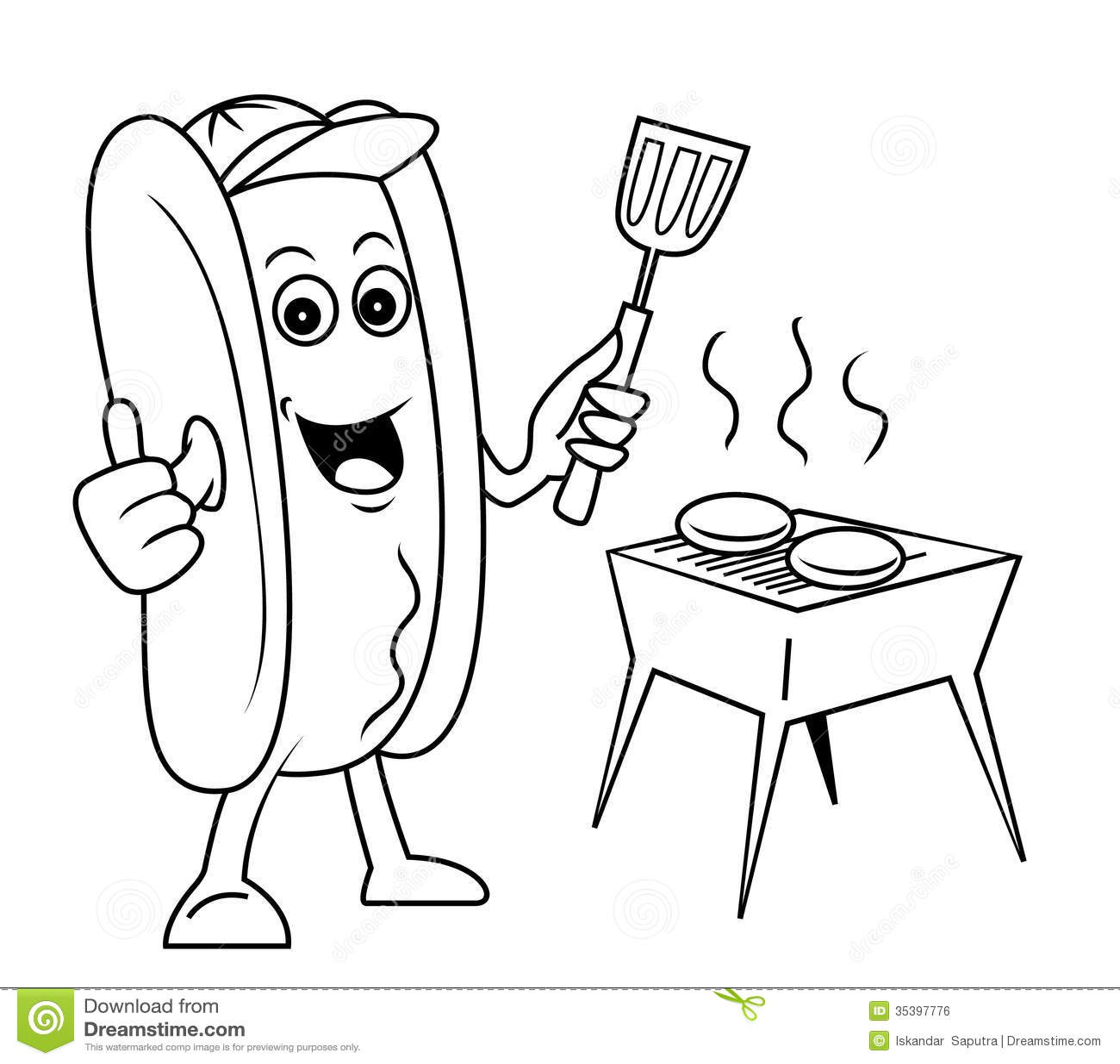 Black sausage party