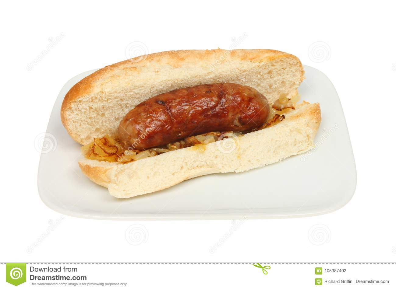 Sausage in a sub roll