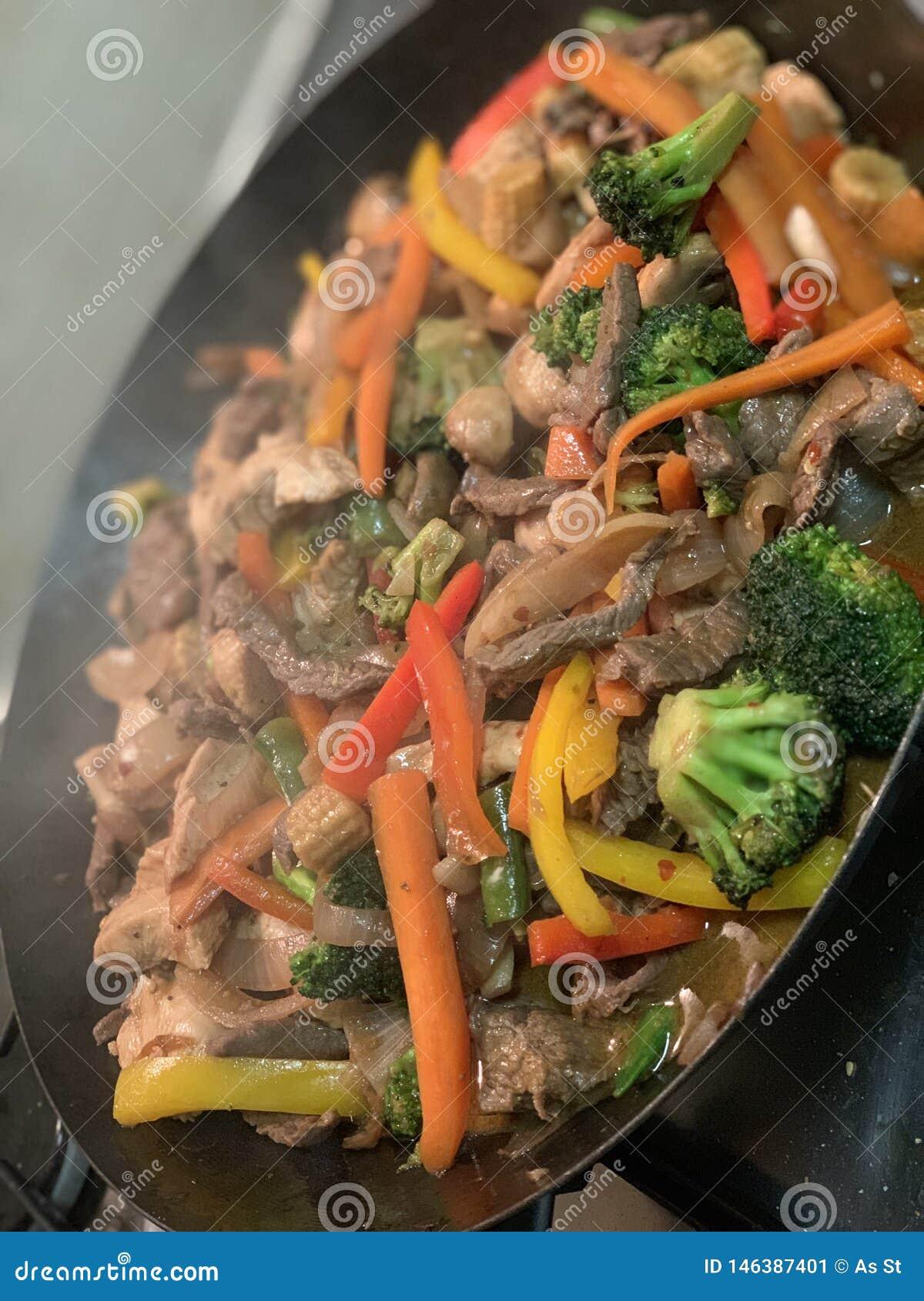 Sauté inspiré asiatique