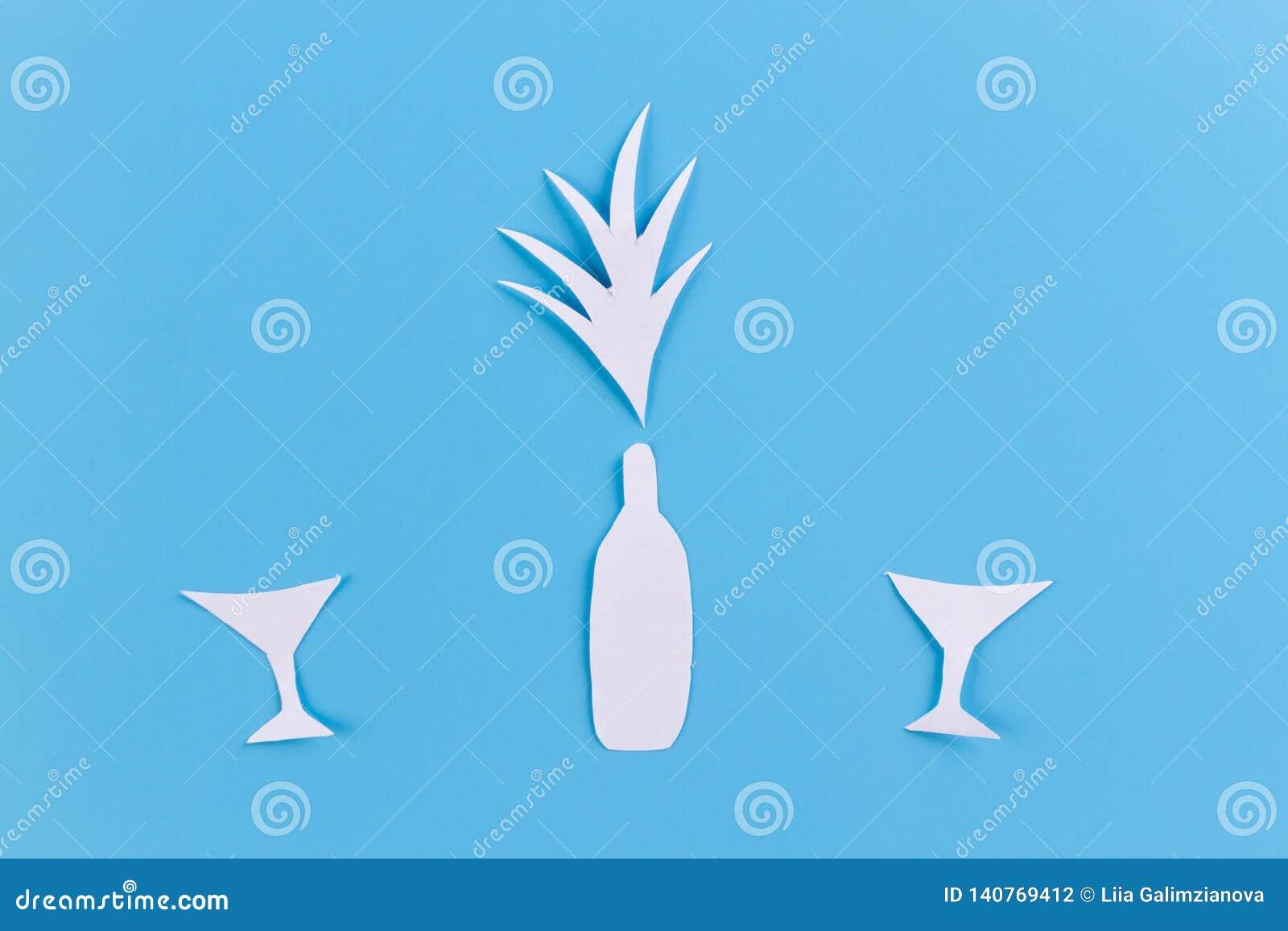 Sauter de bouteille de champagne ouvert célébrations