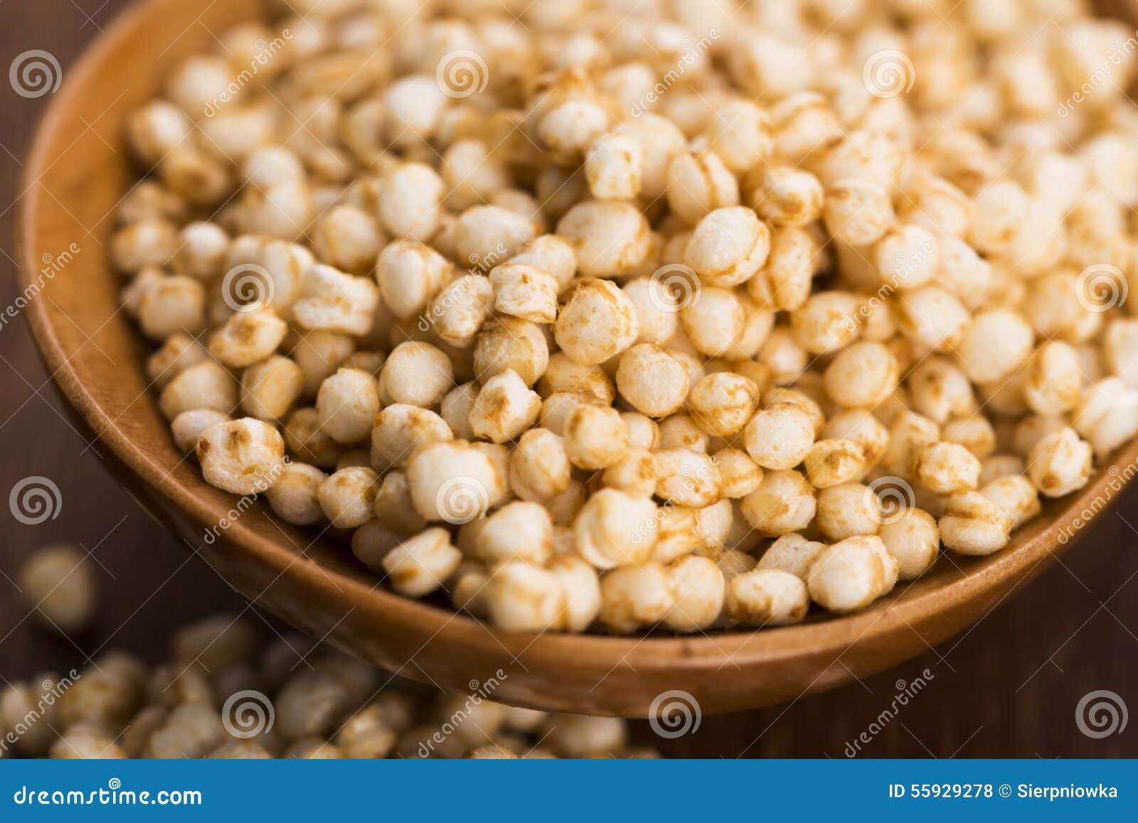 Sauter de quinoa