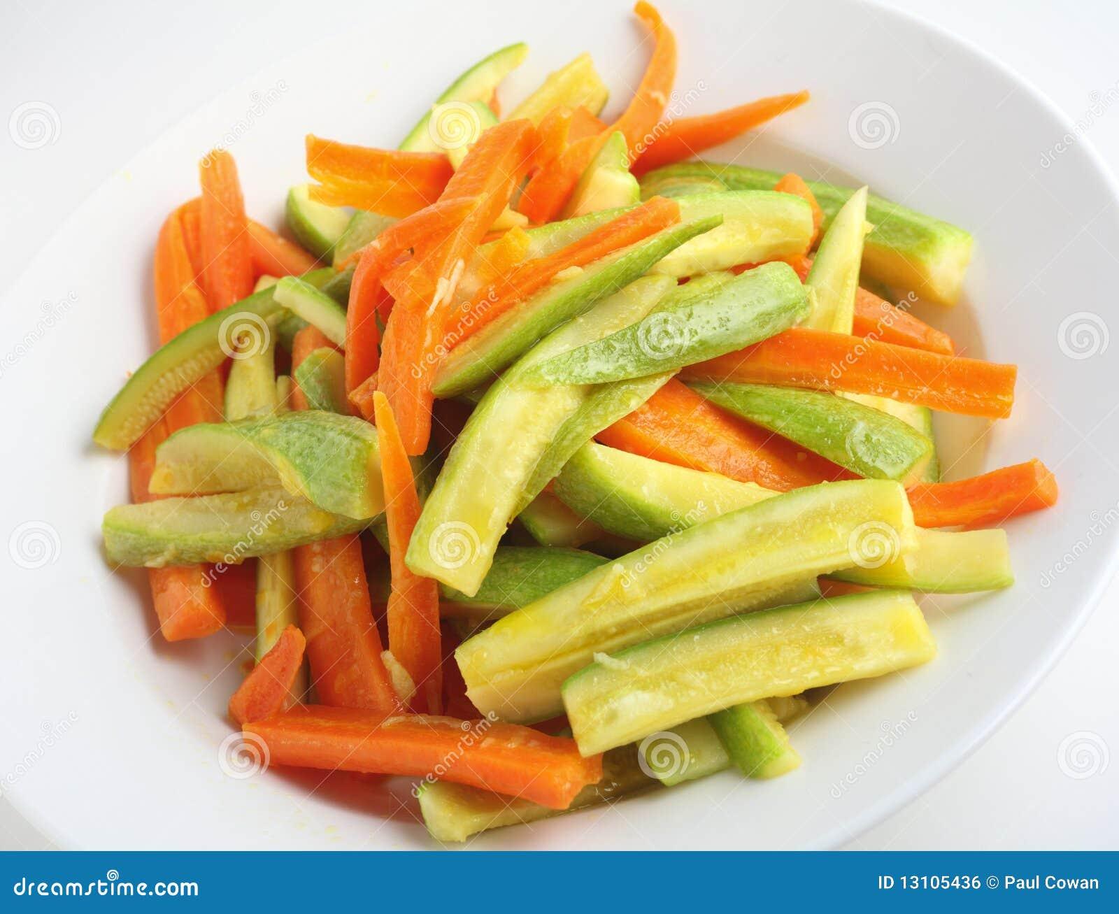 Кабачок с морковкой
