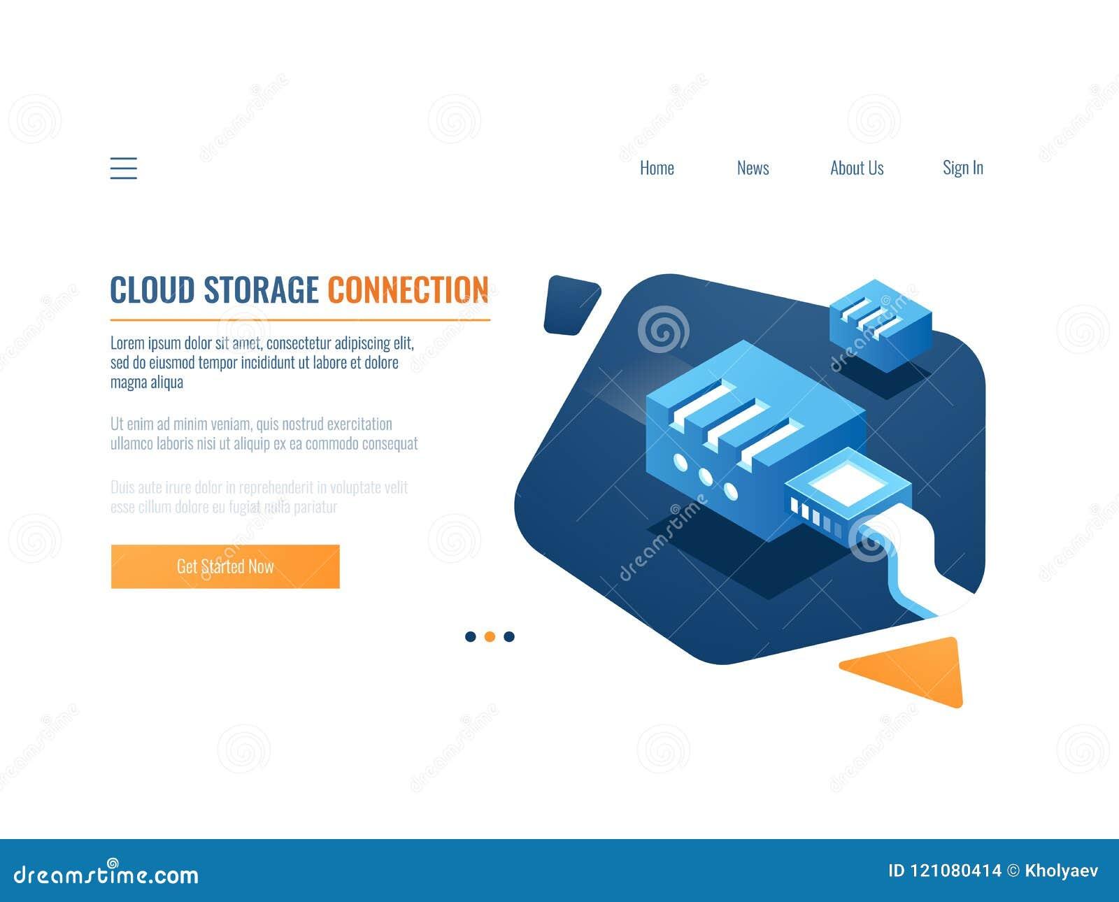 Sauvegarde des données, stockage de nuage de système de données de clone, service d entrepôt de dossier, embrochables à la pièce