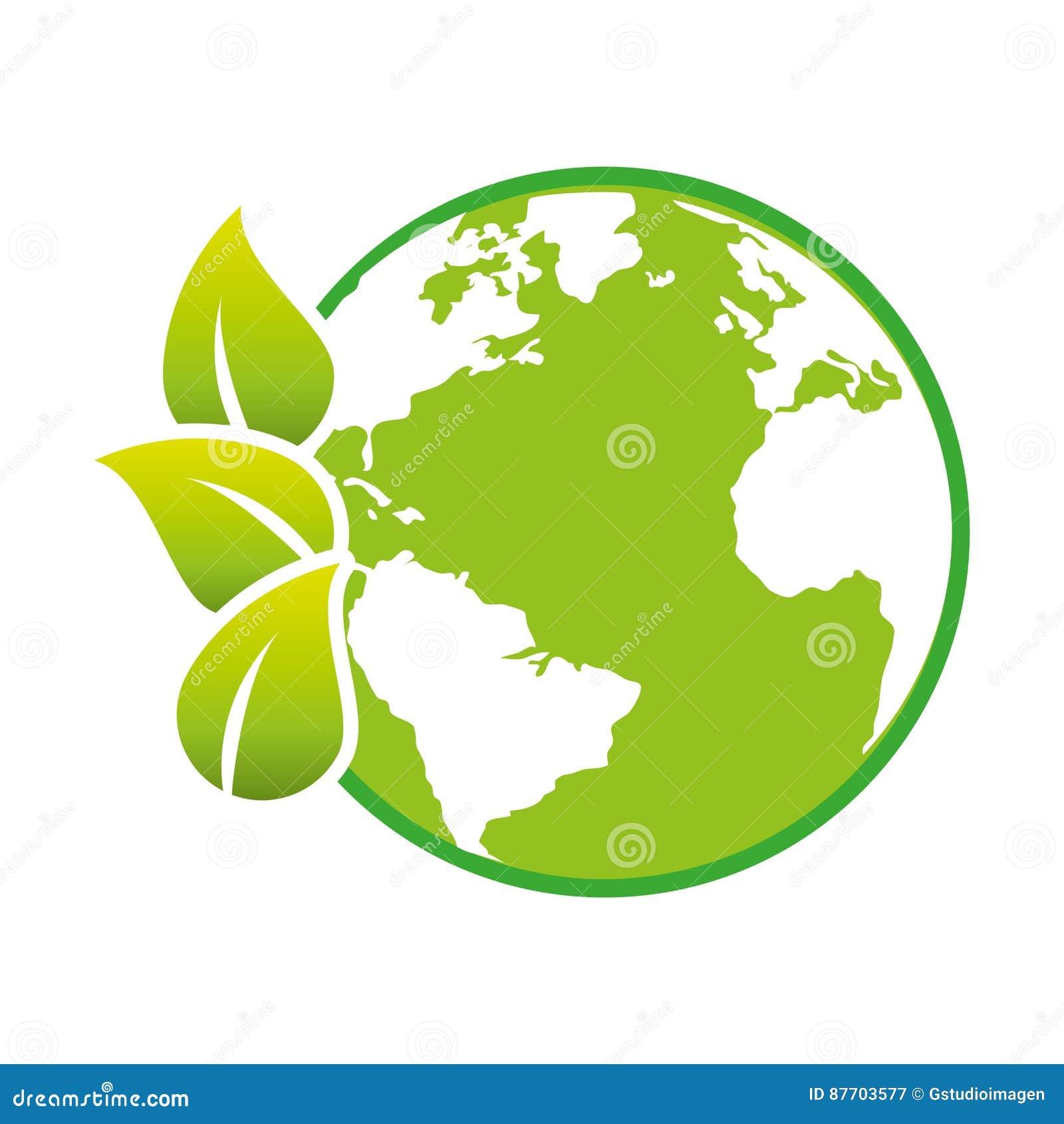 Sauvez l écologie de planète du monde