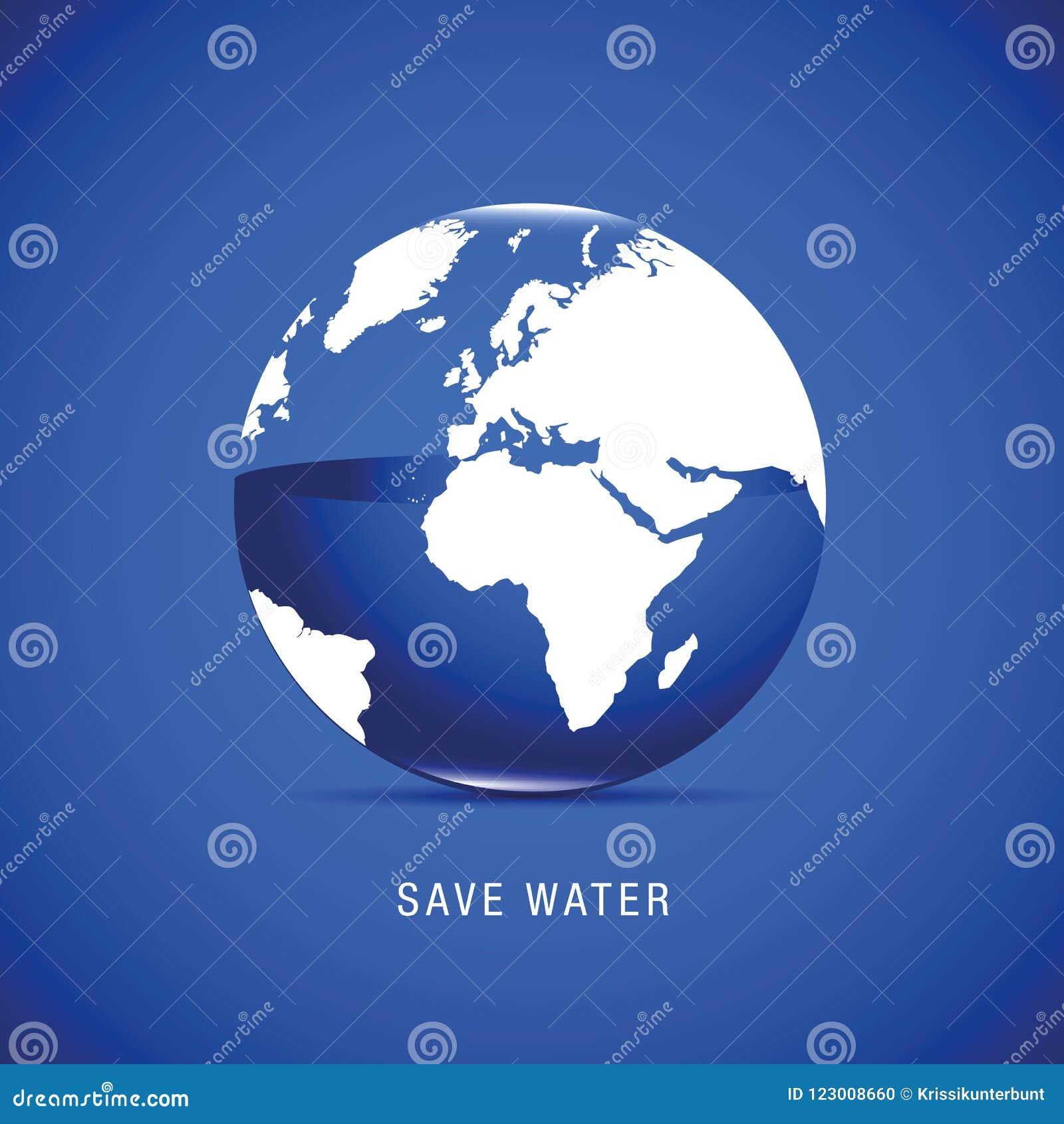 Sauvez l eau pour la terre