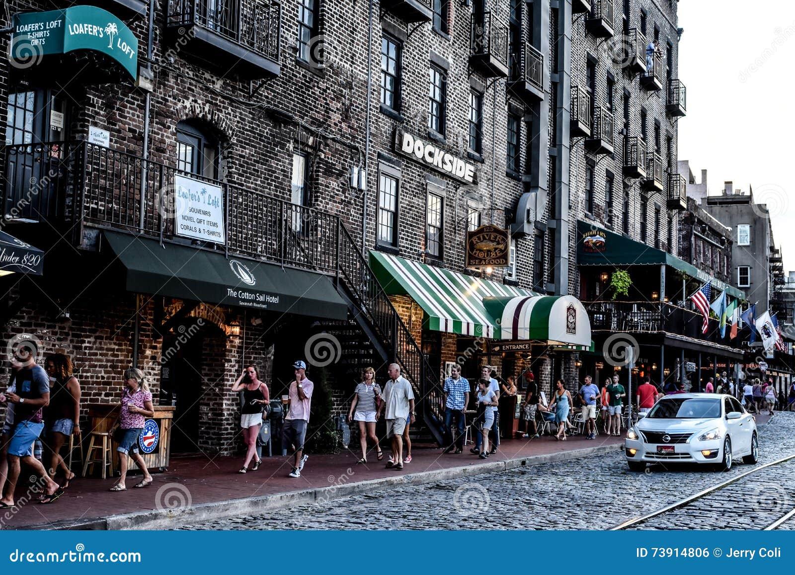 Savannah s famous River Street
