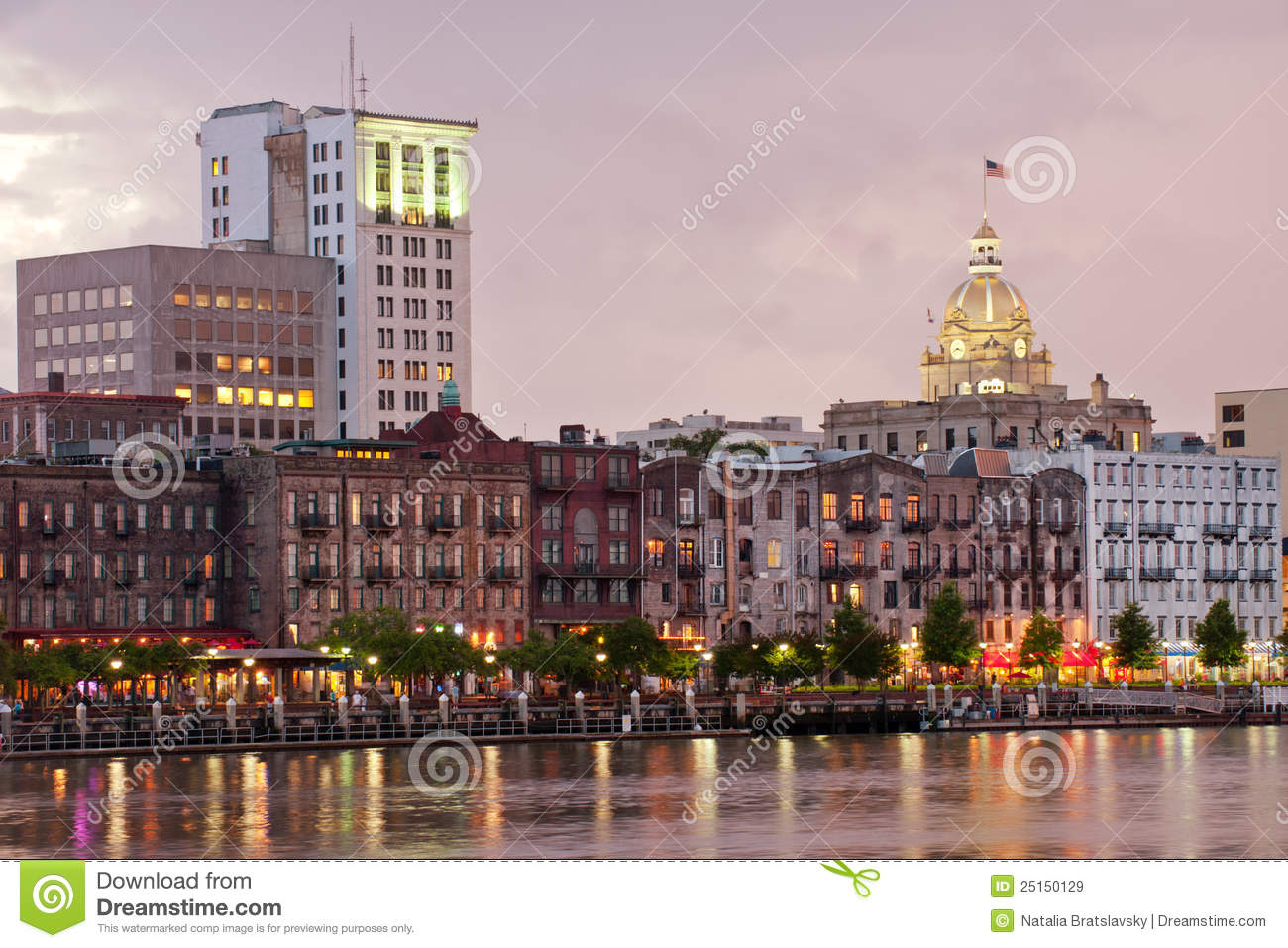 Savannah Skyline Royalty Free Stock Images Image 25150129